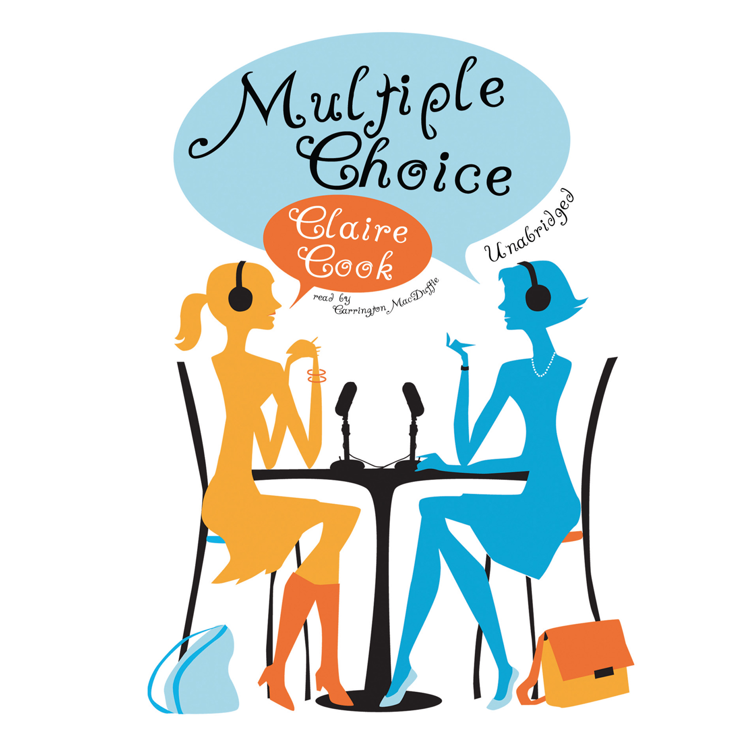 Printable Multiple Choice Audiobook Cover Art