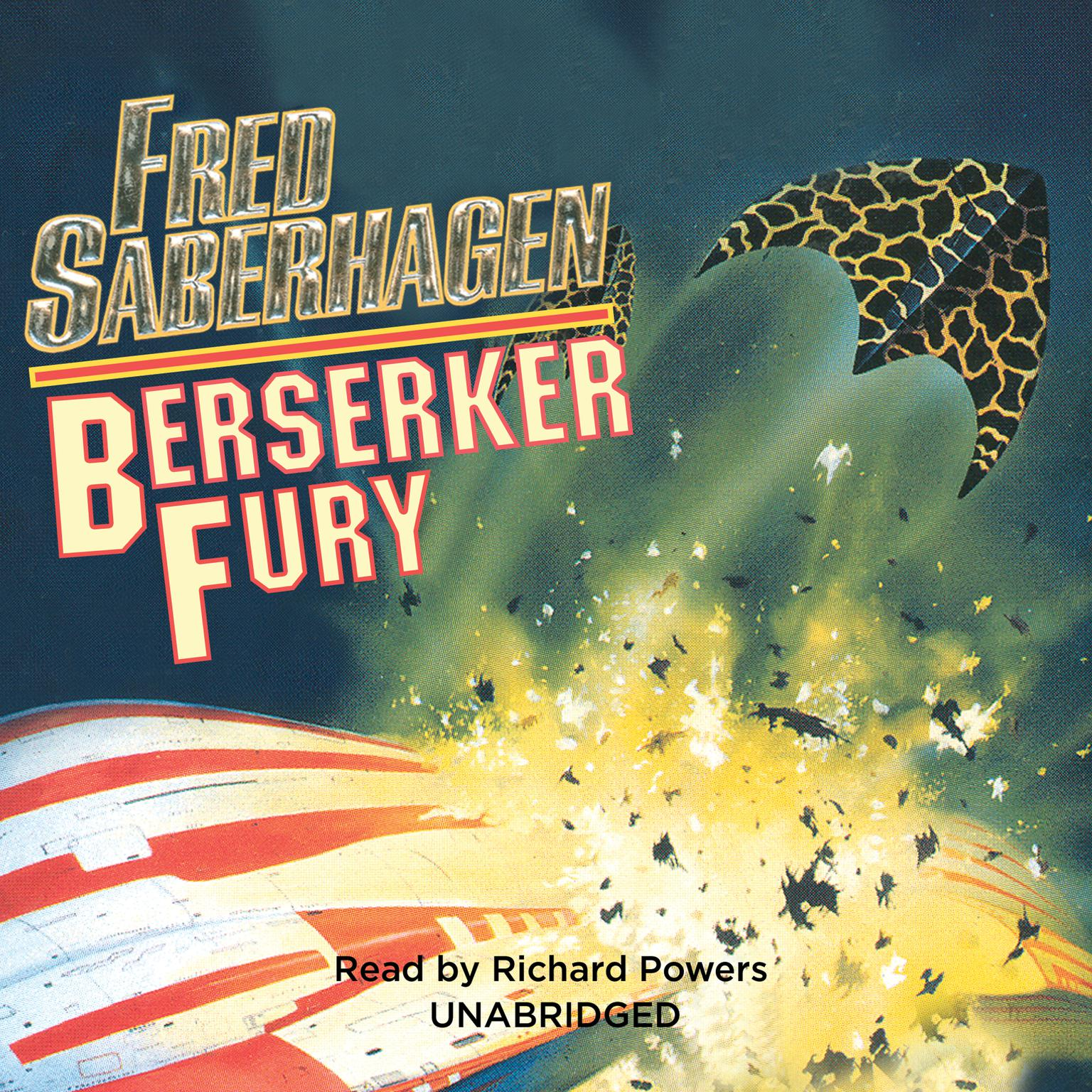 Printable Berserker Fury Audiobook Cover Art
