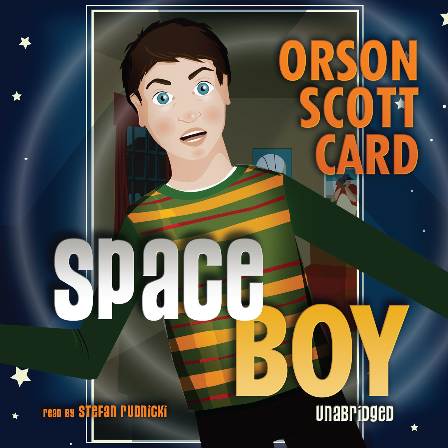 Space Boy Audiobook, by Orson Scott Card