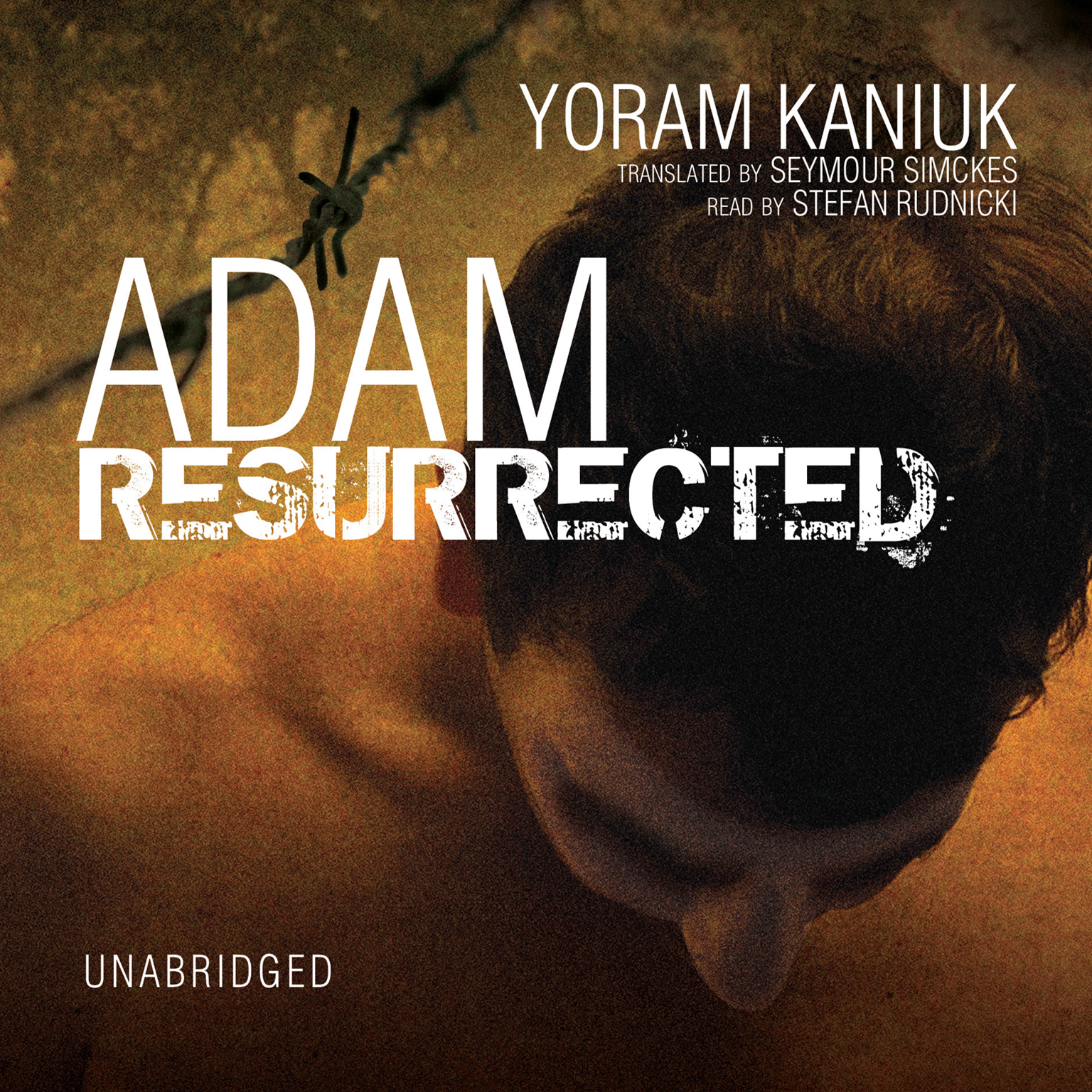 Printable Adam Resurrected Audiobook Cover Art