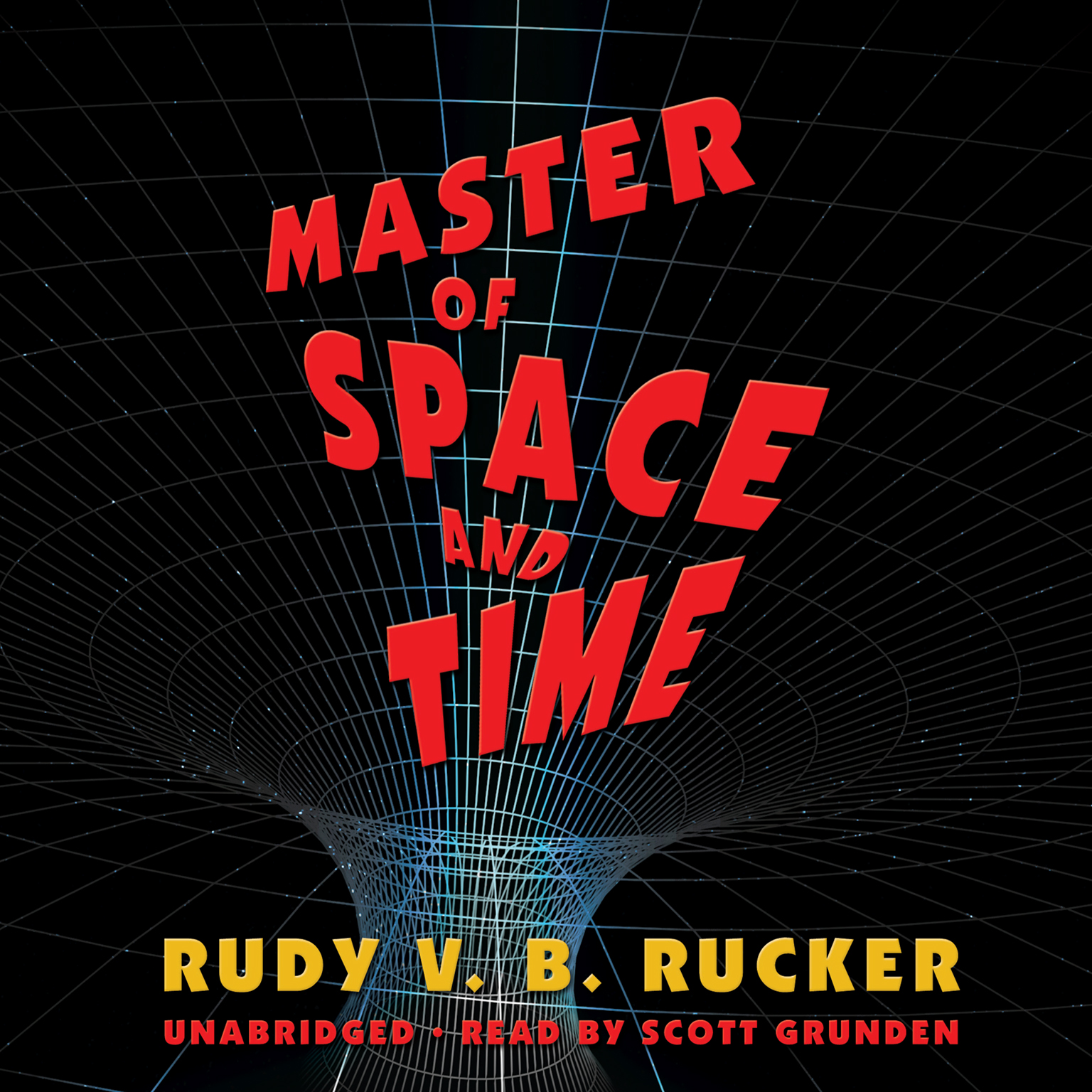 Printable Master of Space and Time Audiobook Cover Art