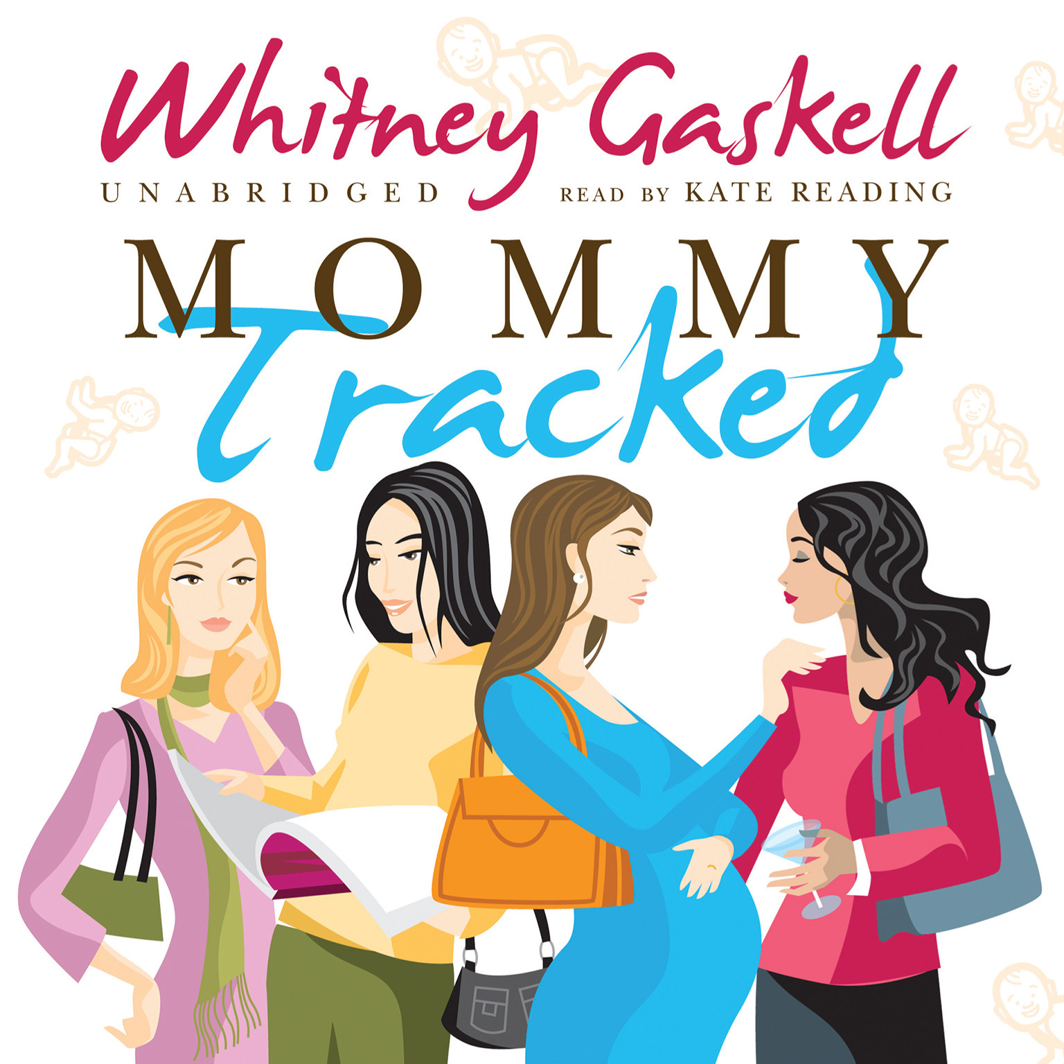 Printable Mommy Tracked Audiobook Cover Art