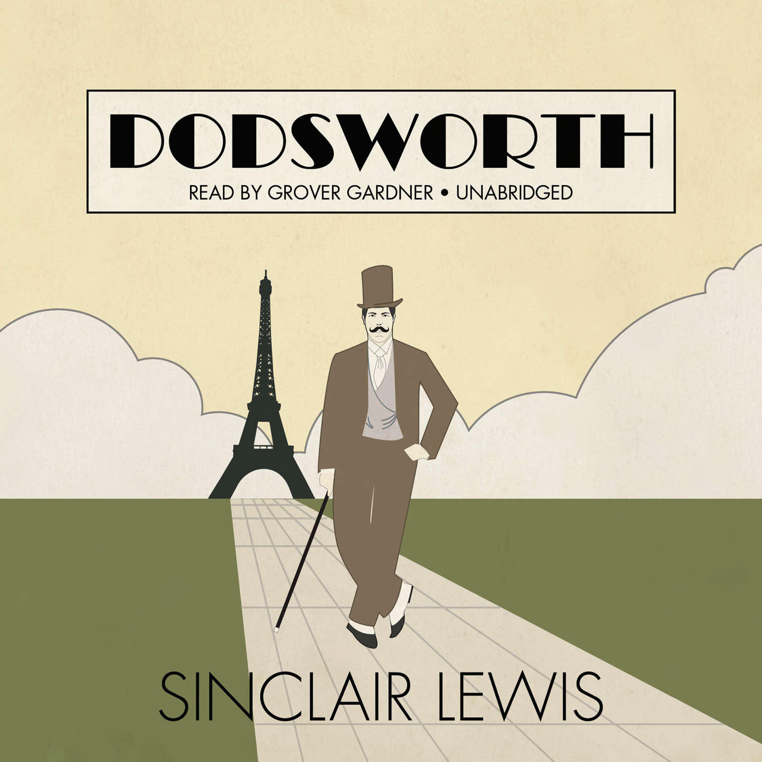 Printable Dodsworth Audiobook Cover Art