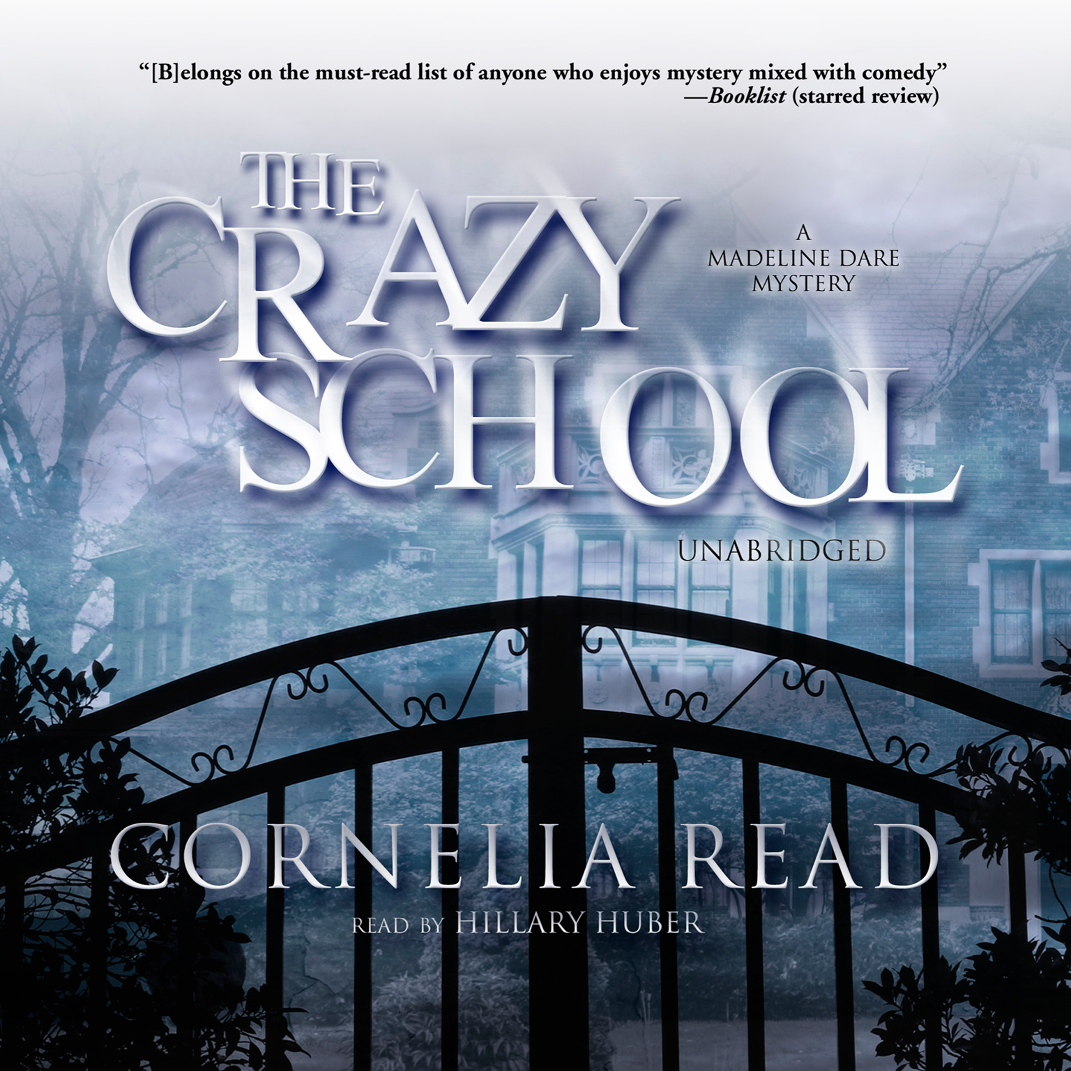 Printable The Crazy School: A Madeline Dare Mystery Audiobook Cover Art