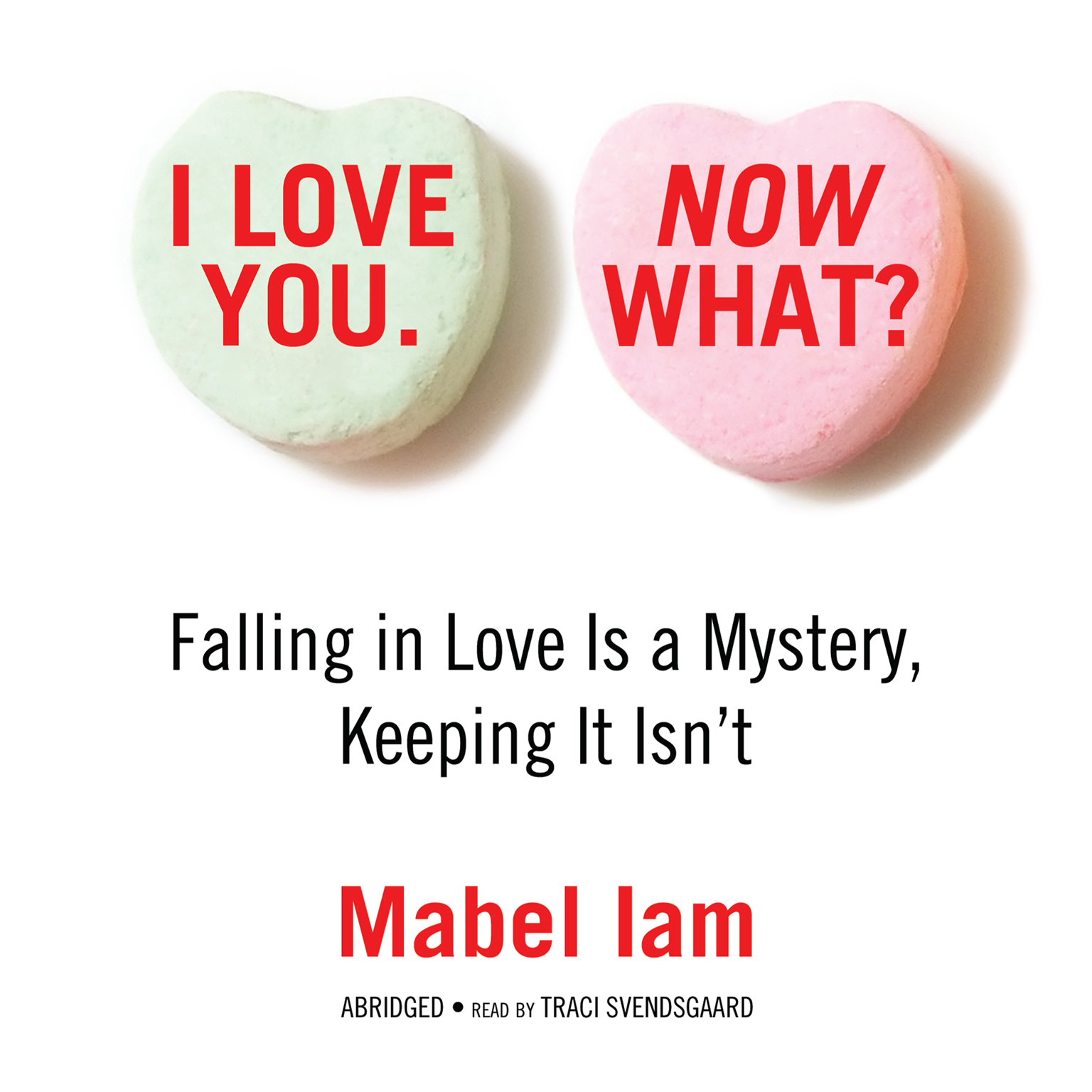 Printable I Love You. Now What?: Falling in Love Is a Mystery, Keeping It Isn't Audiobook Cover Art