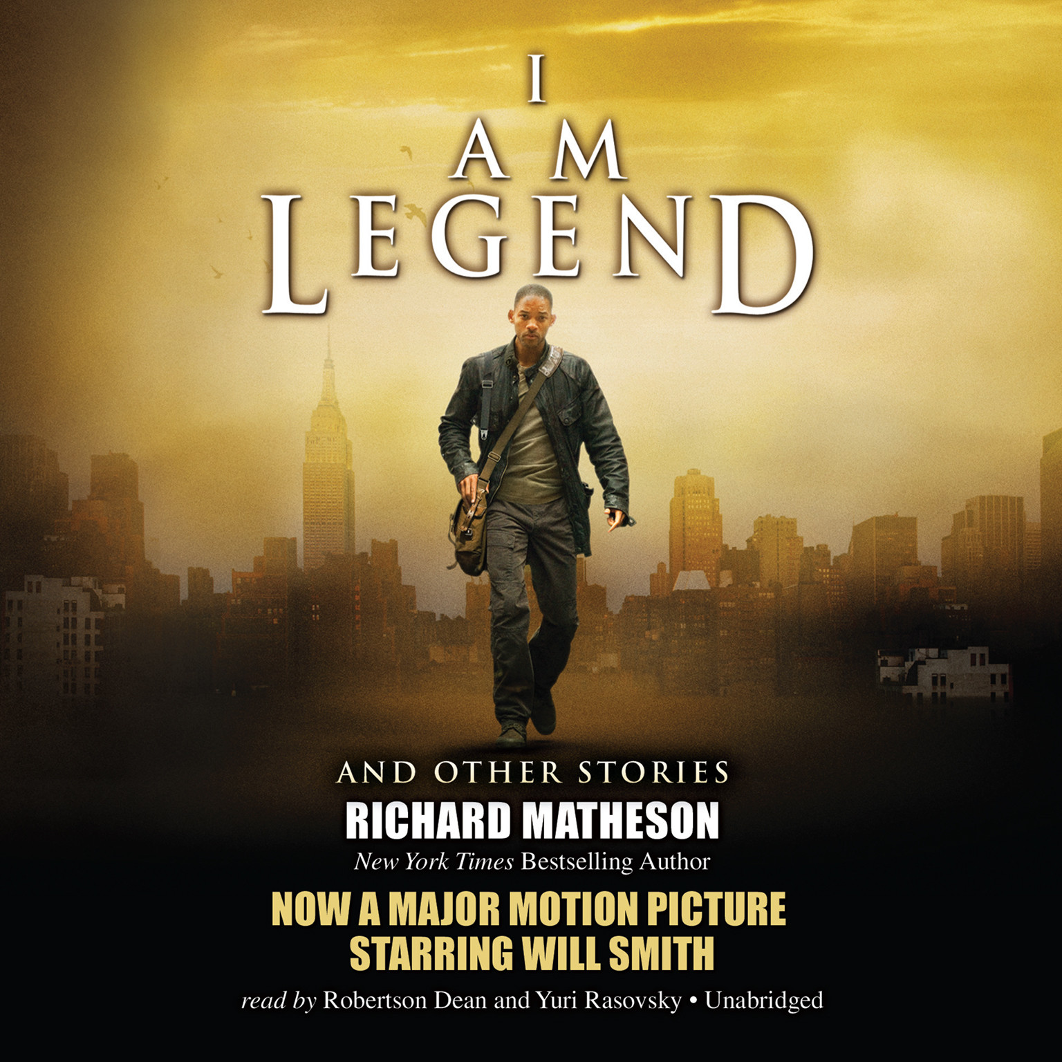 Printable I Am Legend, and Other Stories Audiobook Cover Art