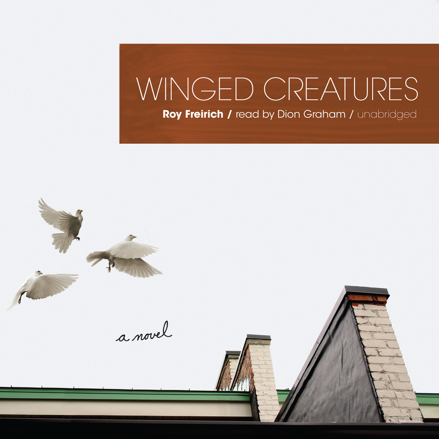 Printable Winged Creatures: A Novel Audiobook Cover Art