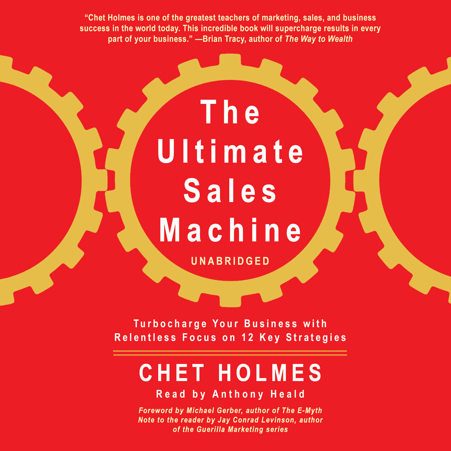 Printable The Ultimate Sales Machine: Turbocharge Your Business with Relentless Focus on 12 Key Strategies Audiobook Cover Art