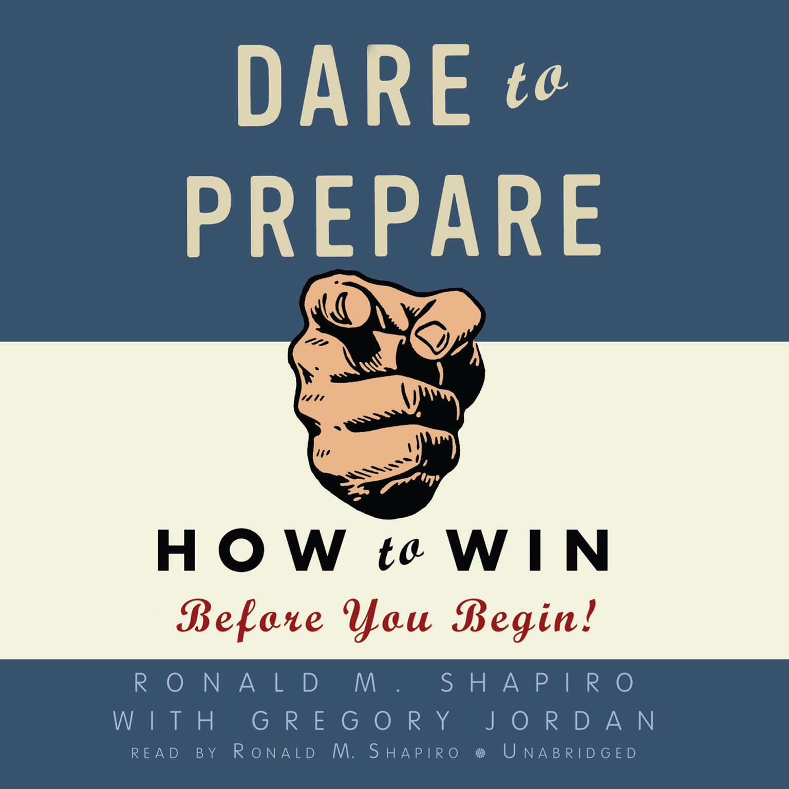 Printable Dare to Prepare: How to Win Before You Begin! Audiobook Cover Art