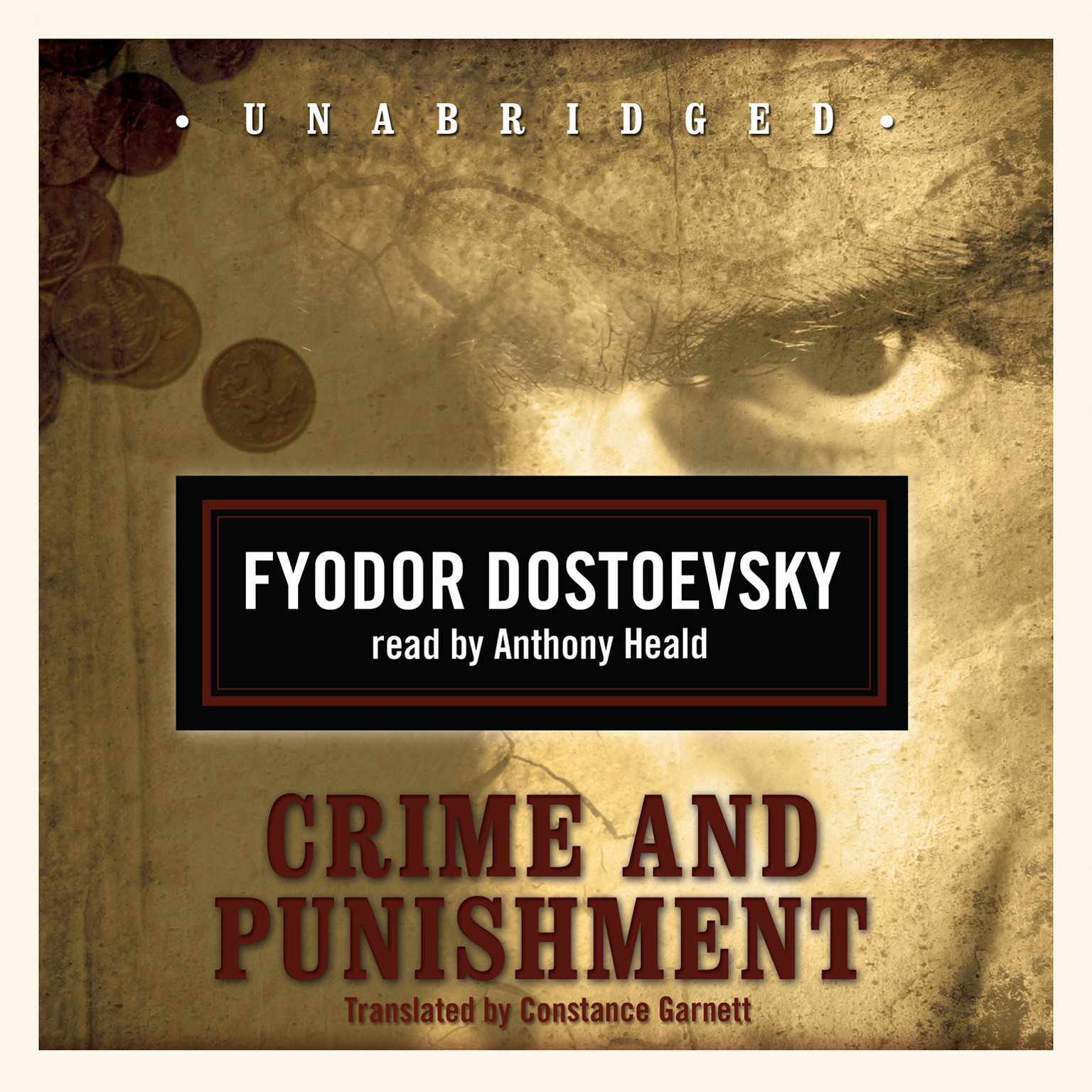 Printable Crime and Punishment Audiobook Cover Art