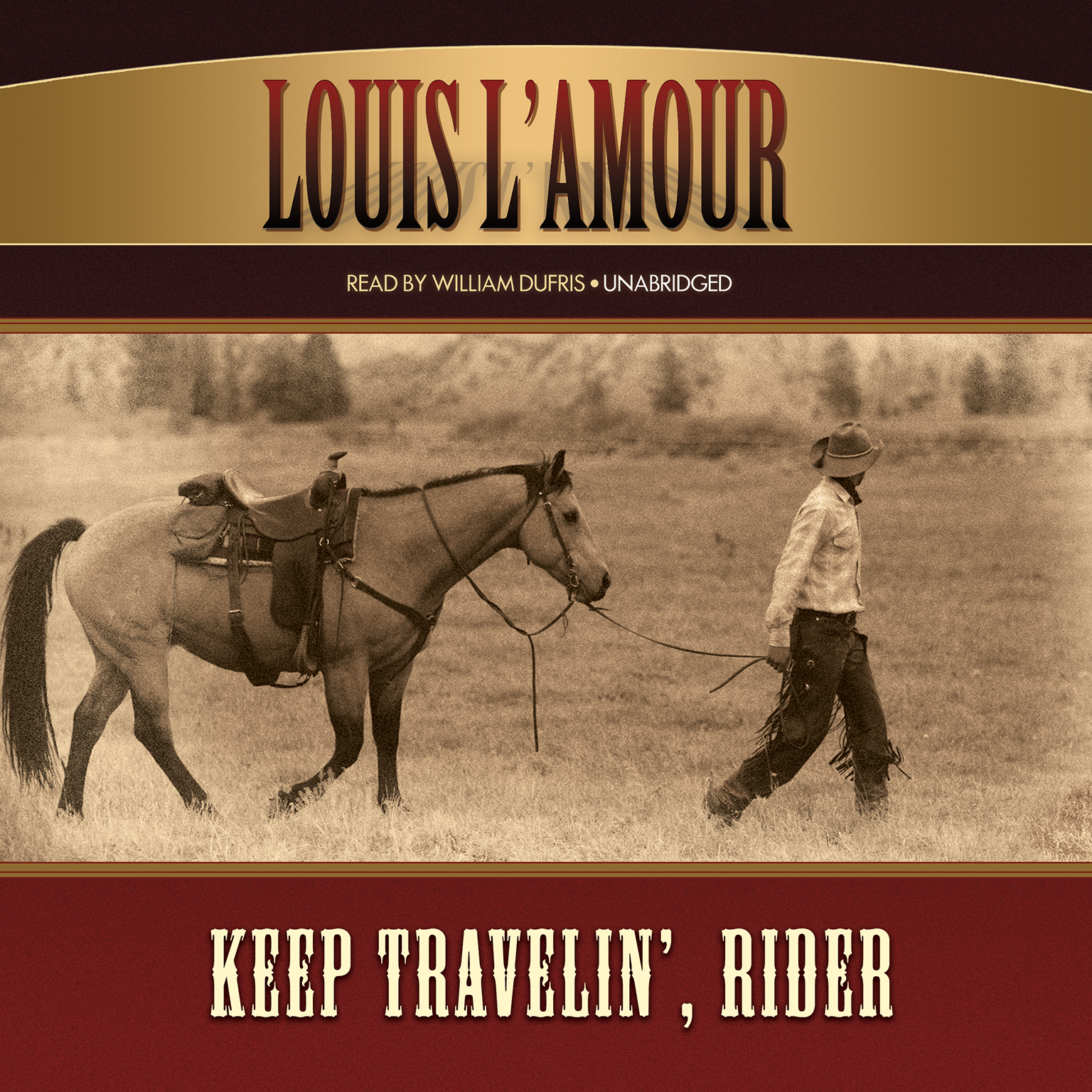 Printable Keep Travelin', Rider Audiobook Cover Art