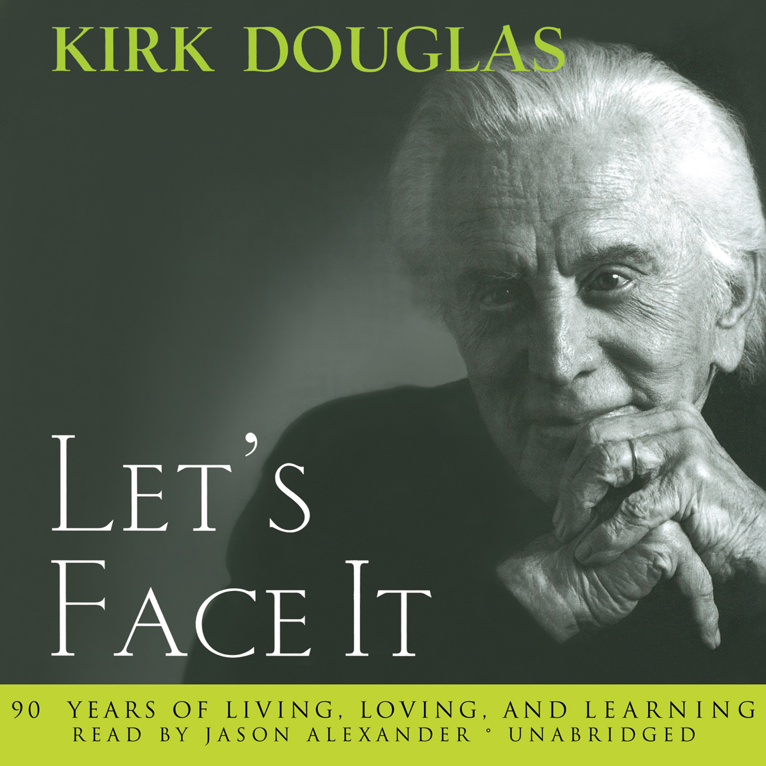 Printable Let's Face It: 90 Years of Living, Loving, and Learning Audiobook Cover Art