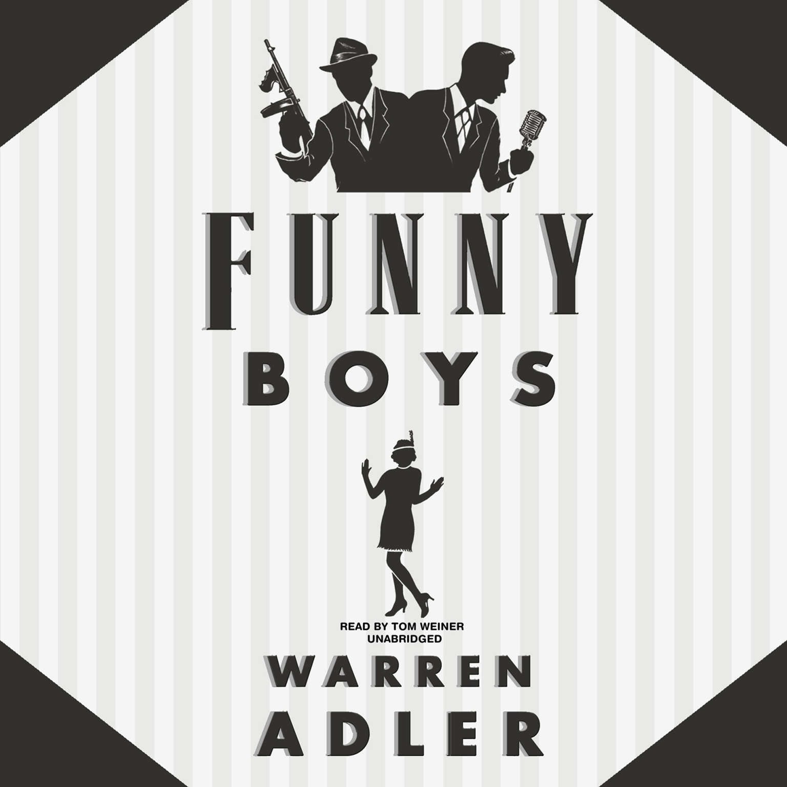 Printable Funny Boys Audiobook Cover Art