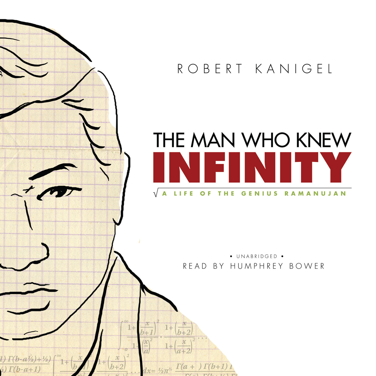 Printable The Man Who Knew Infinity: A Life of the Genius Ramanujan Audiobook Cover Art