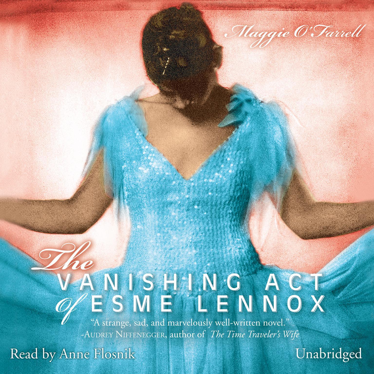 Printable The Vanishing Act of Esme Lennox Audiobook Cover Art