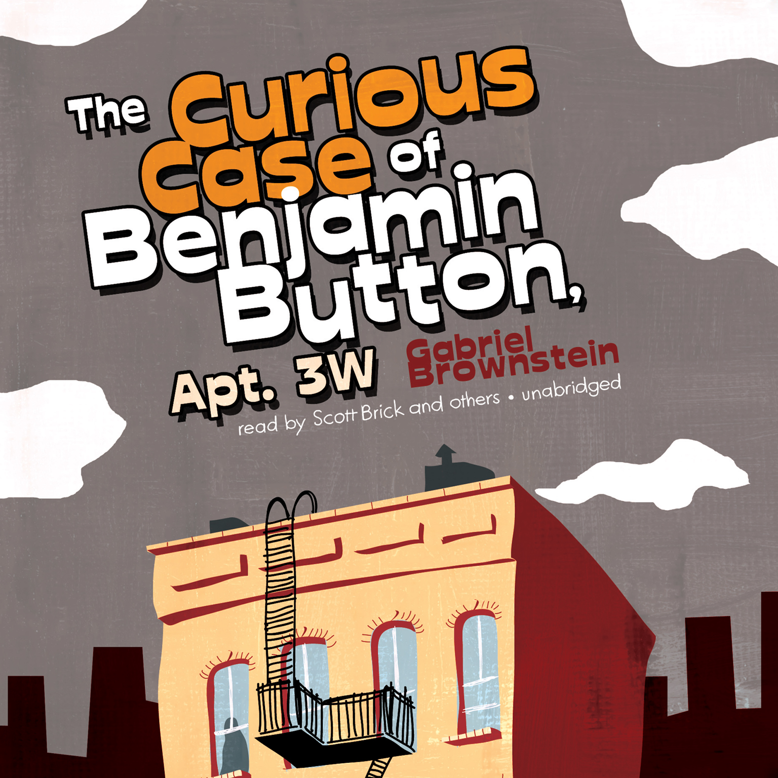 Printable The Curious Case of Benjamin Button, Apt. 3W Audiobook Cover Art