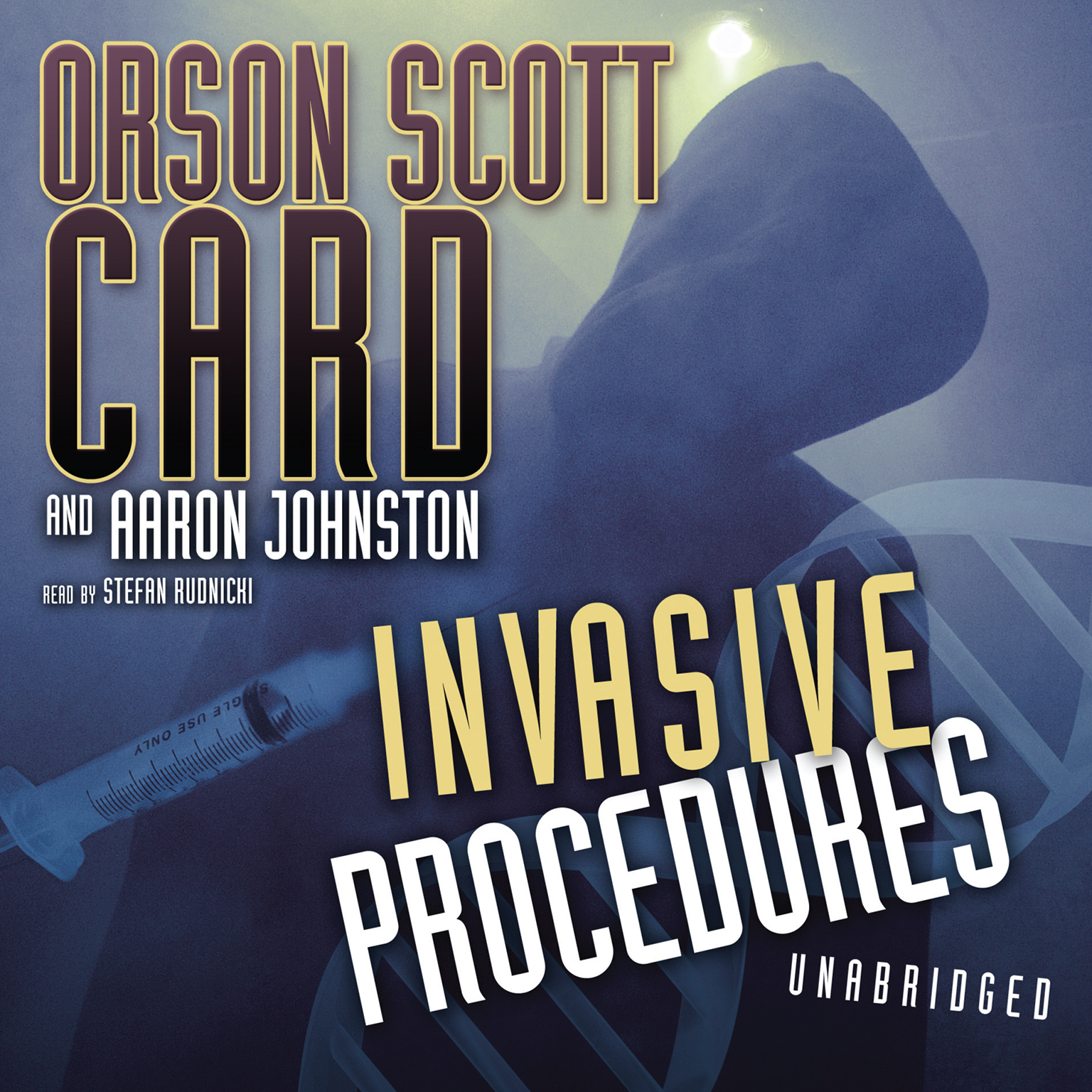 Printable Invasive Procedures Audiobook Cover Art