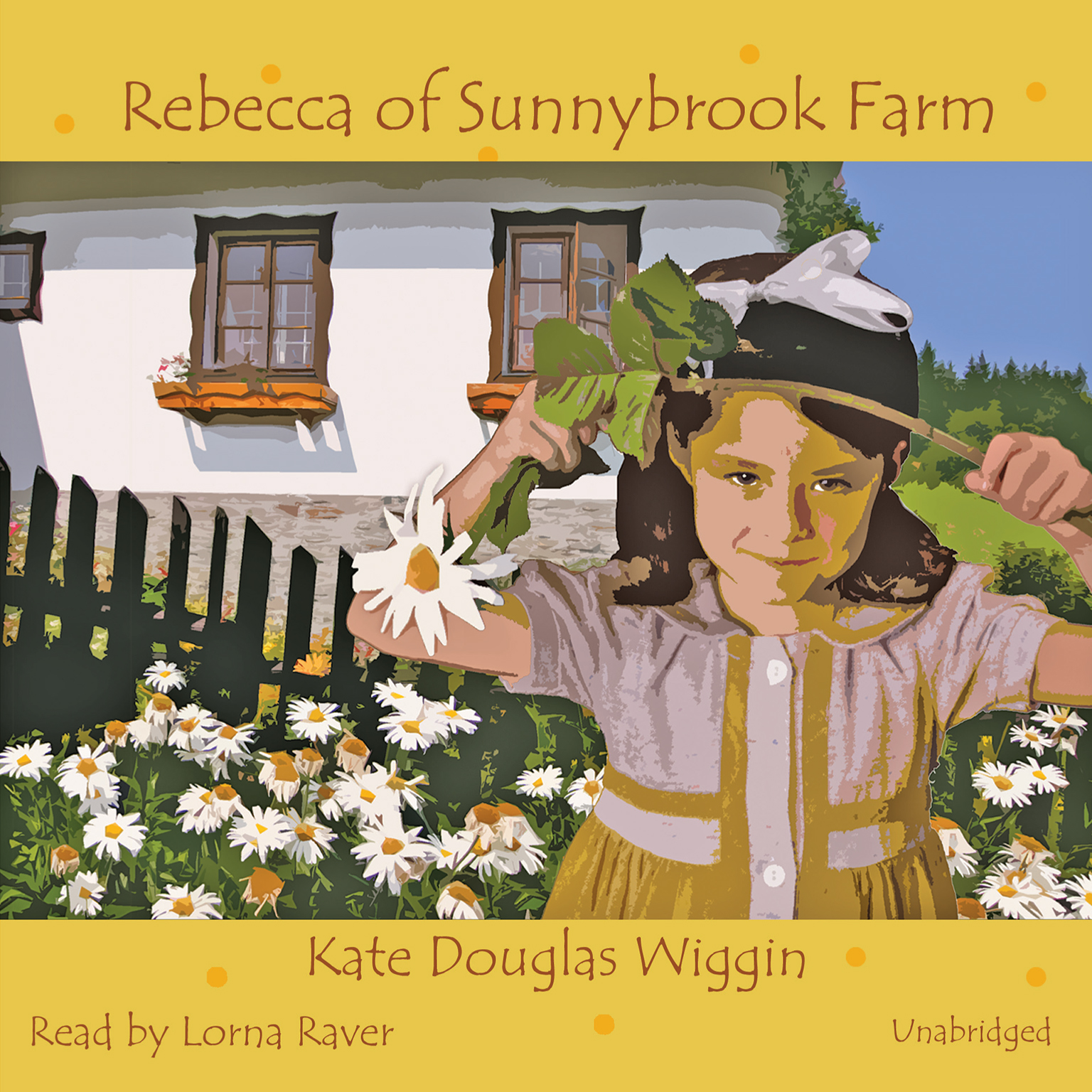 Printable Rebecca of Sunnybrook Farm Audiobook Cover Art