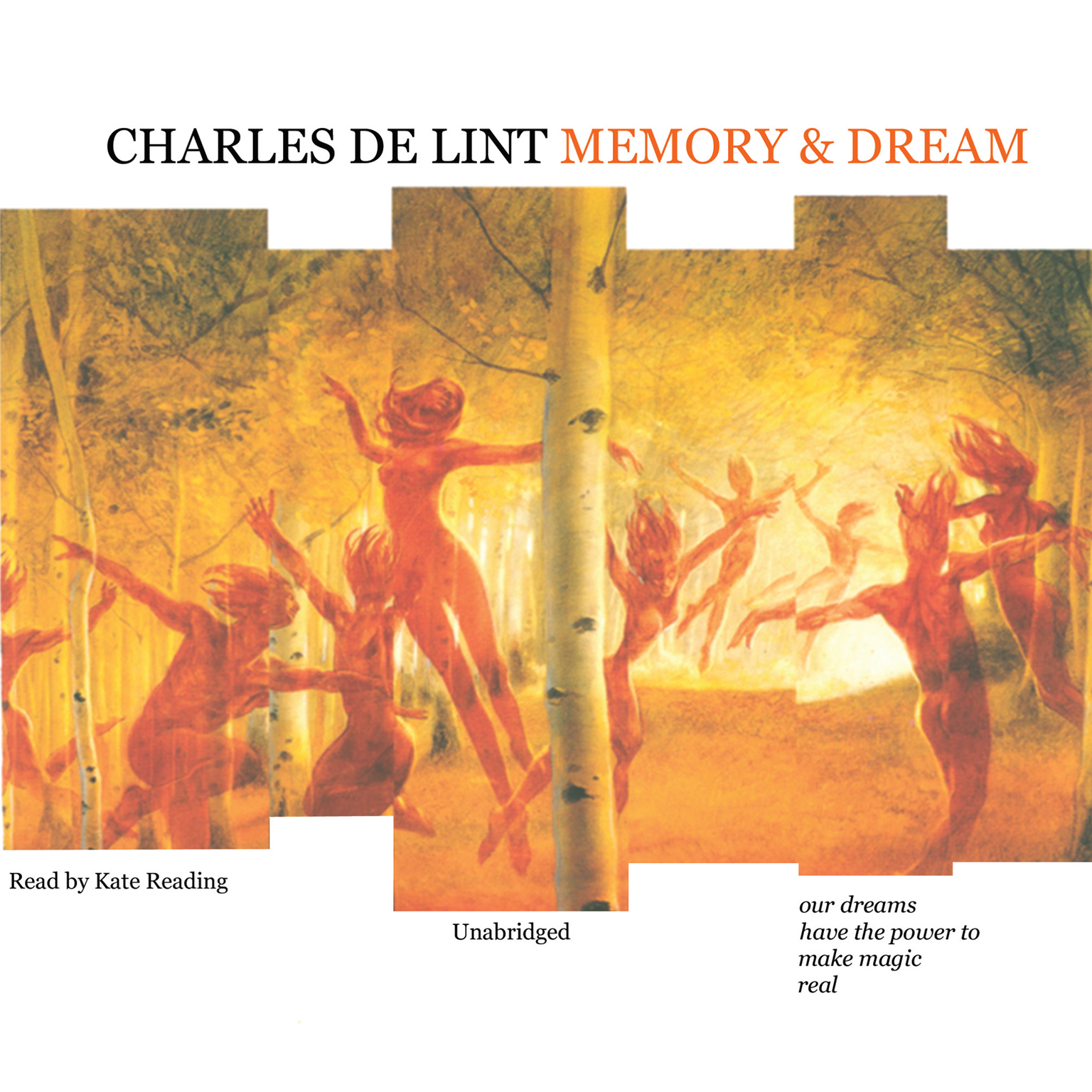 Printable Memory and Dream Audiobook Cover Art