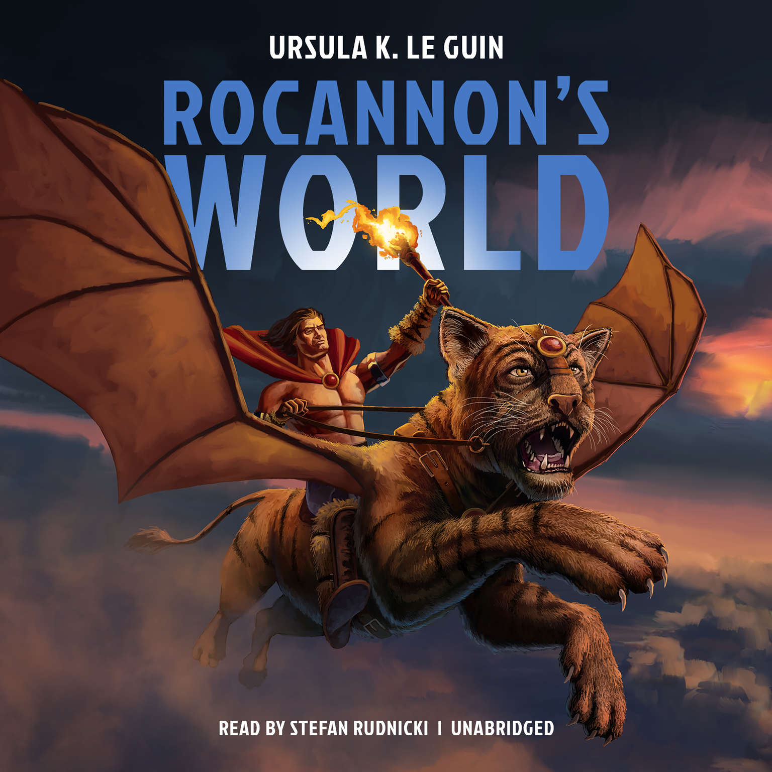 Printable Rocannon's World Audiobook Cover Art