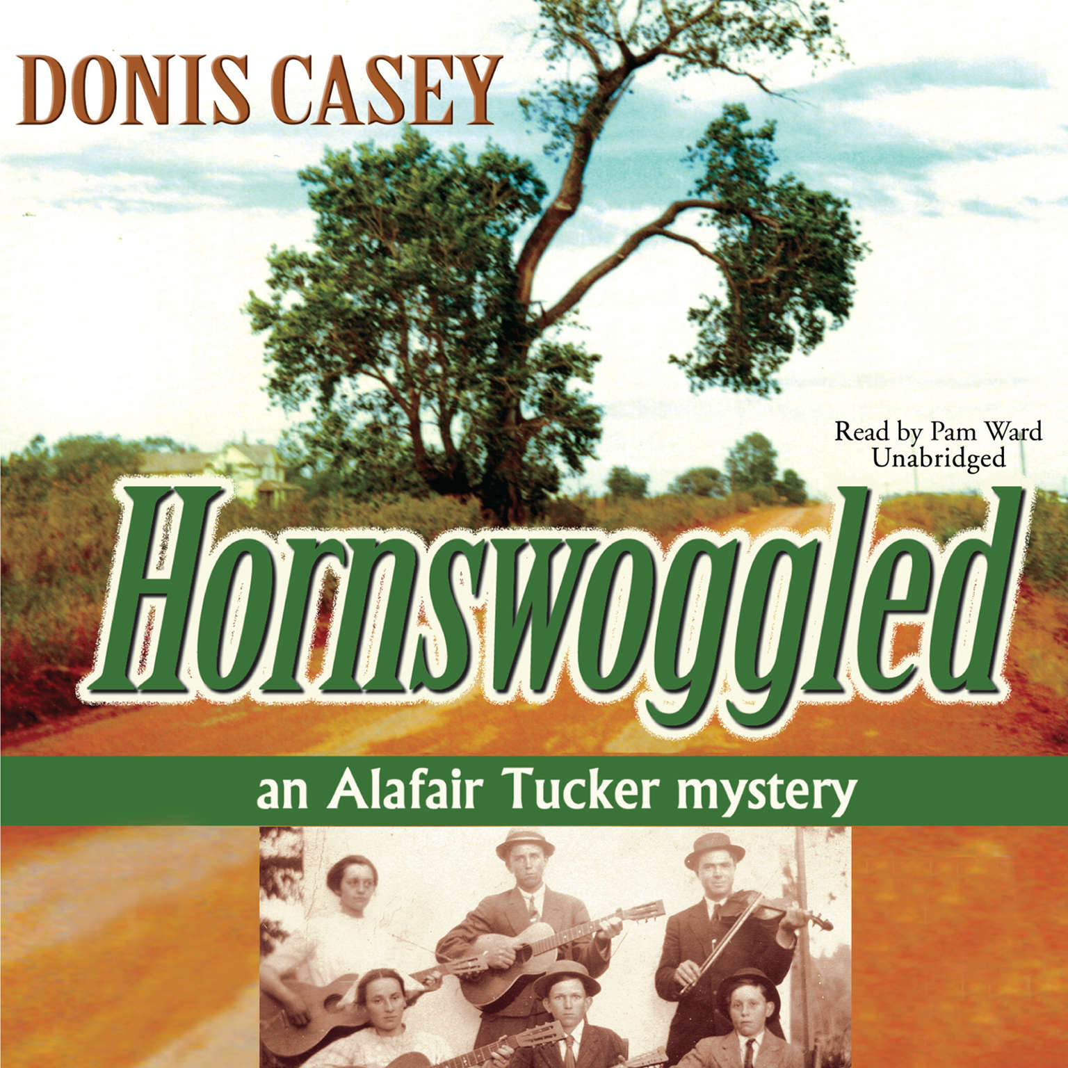 Printable Hornswoggled: An Alafair Tucker Mystery Audiobook Cover Art