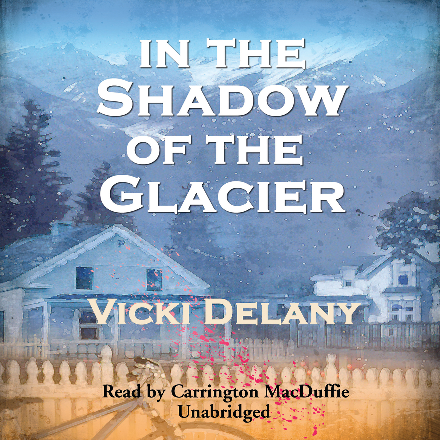 Printable In the Shadow of the Glacier Audiobook Cover Art