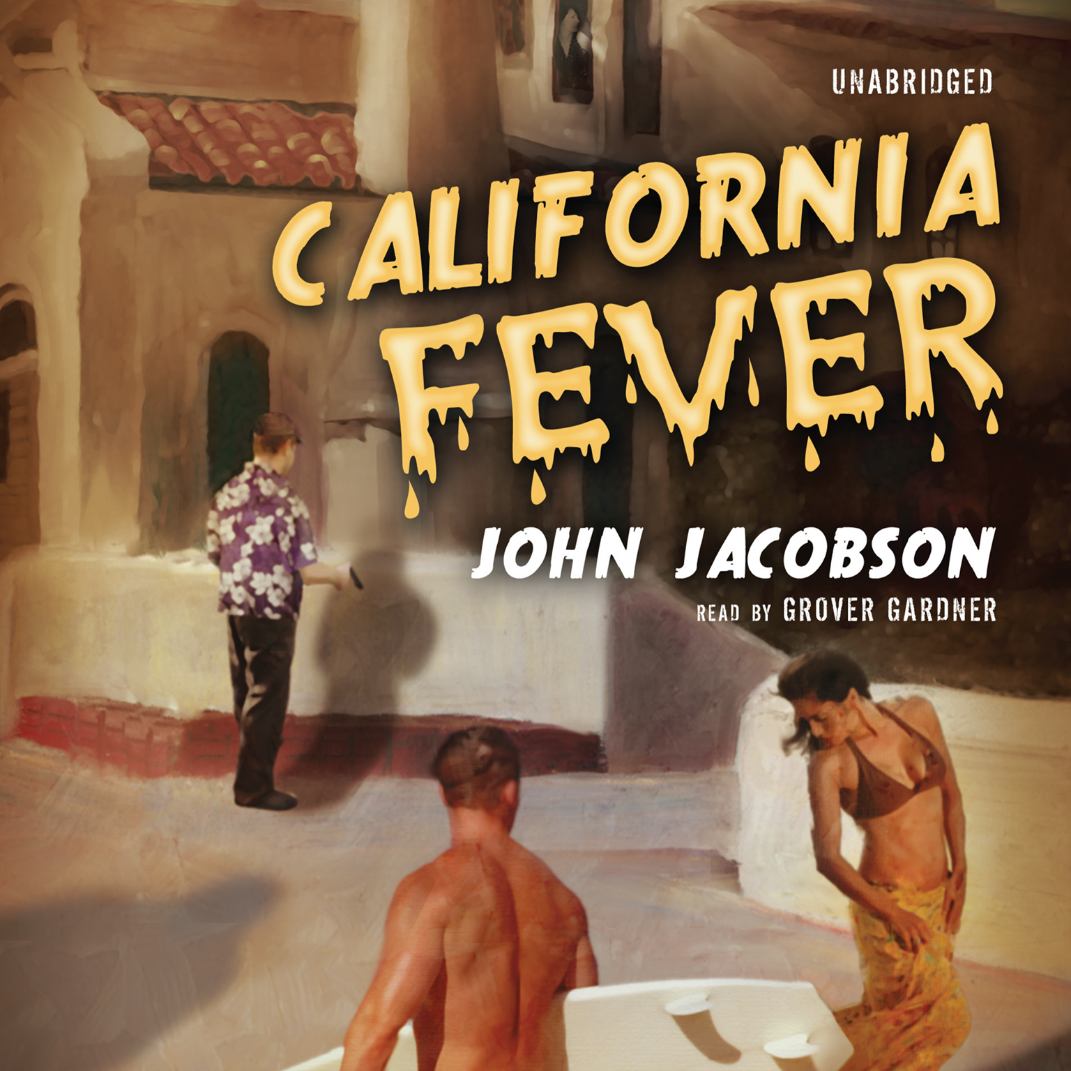 Printable California Fever Audiobook Cover Art
