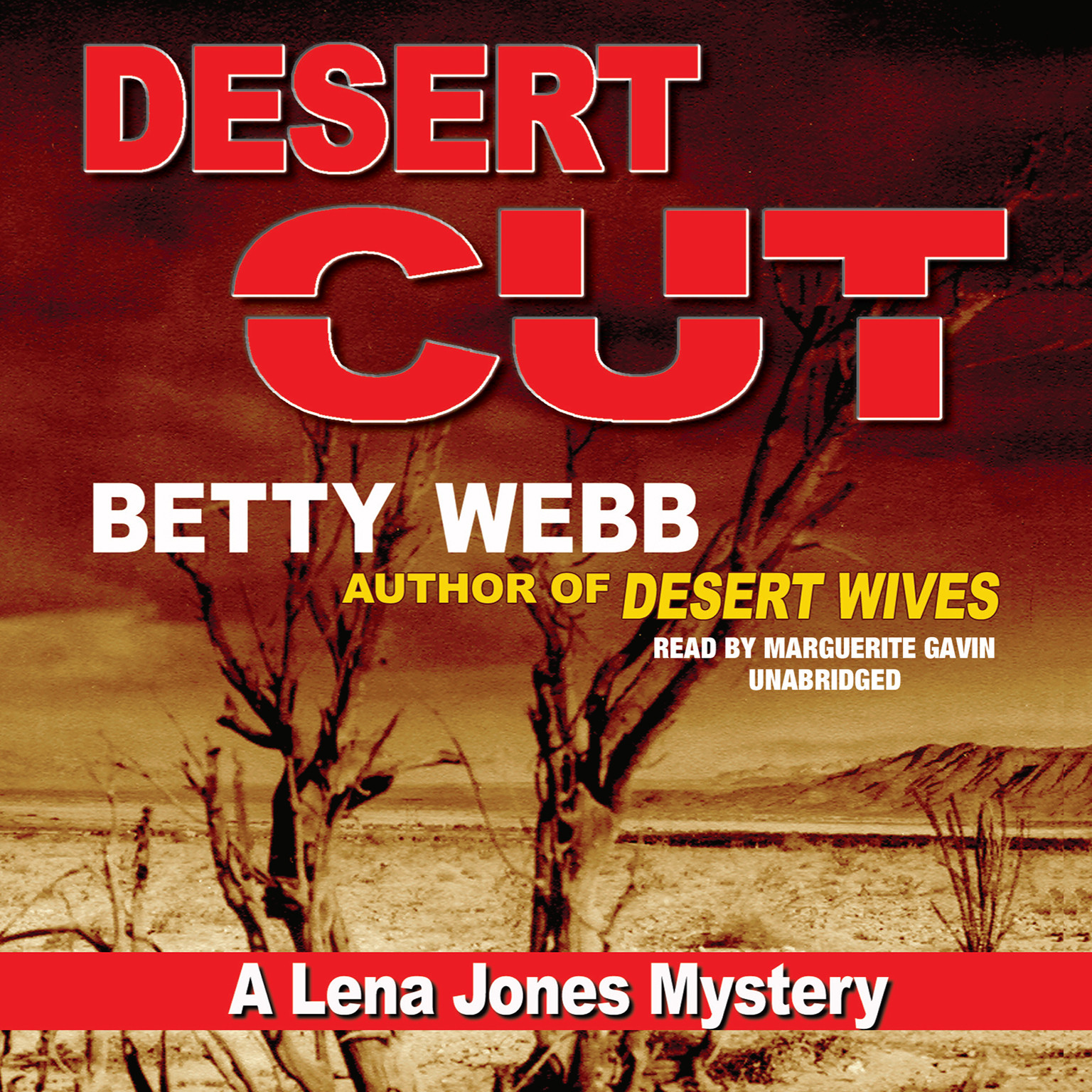 Printable Desert Cut: A Lena Jones Mystery Audiobook Cover Art