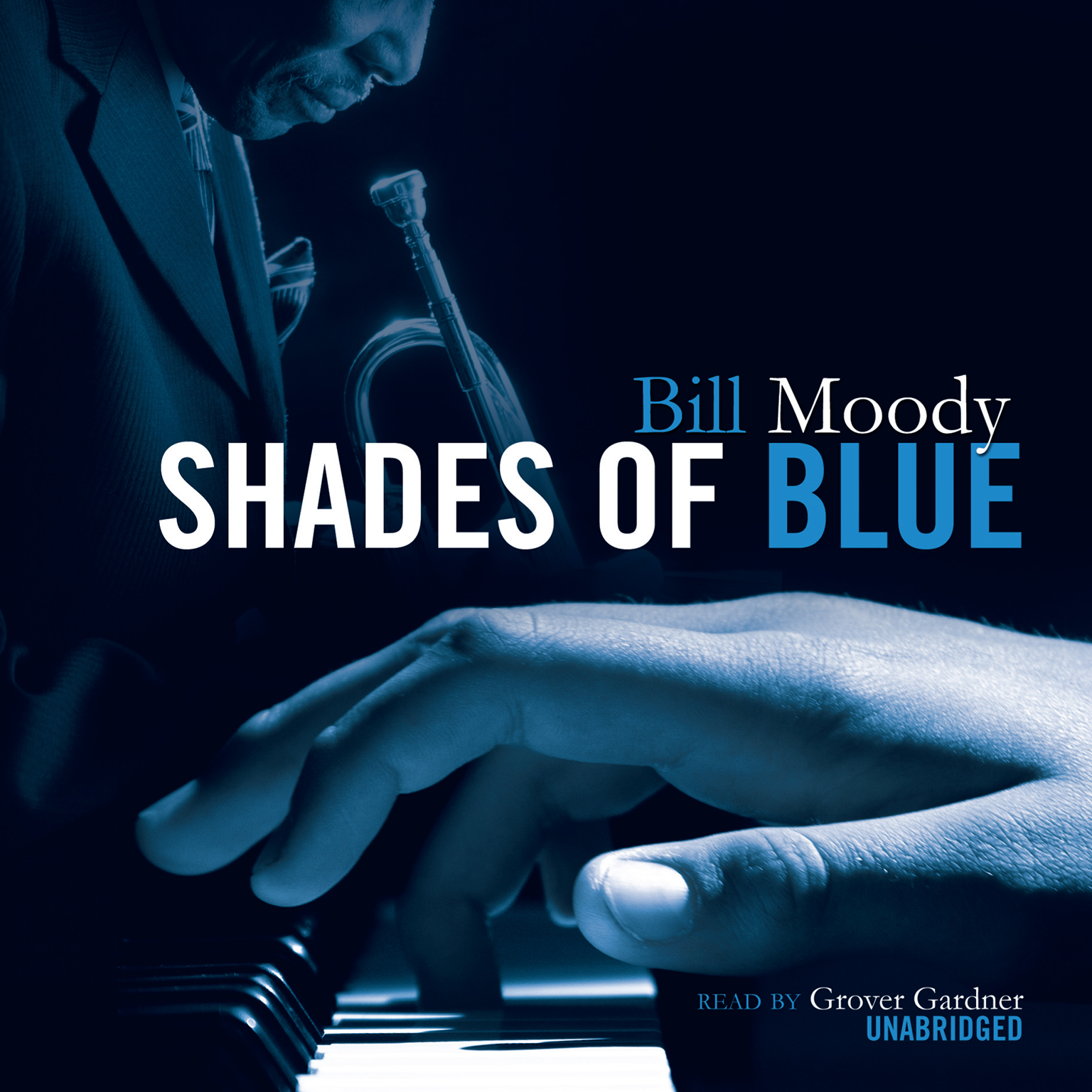Printable Shades of Blue: An Evan Horne Mystery Audiobook Cover Art