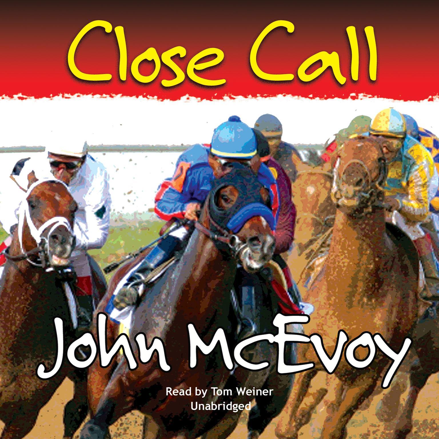 Printable Close Call Audiobook Cover Art