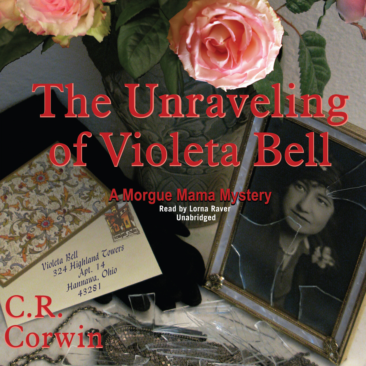 Printable The Unraveling of Violeta Bell: A Morgue Mama Mystery Audiobook Cover Art
