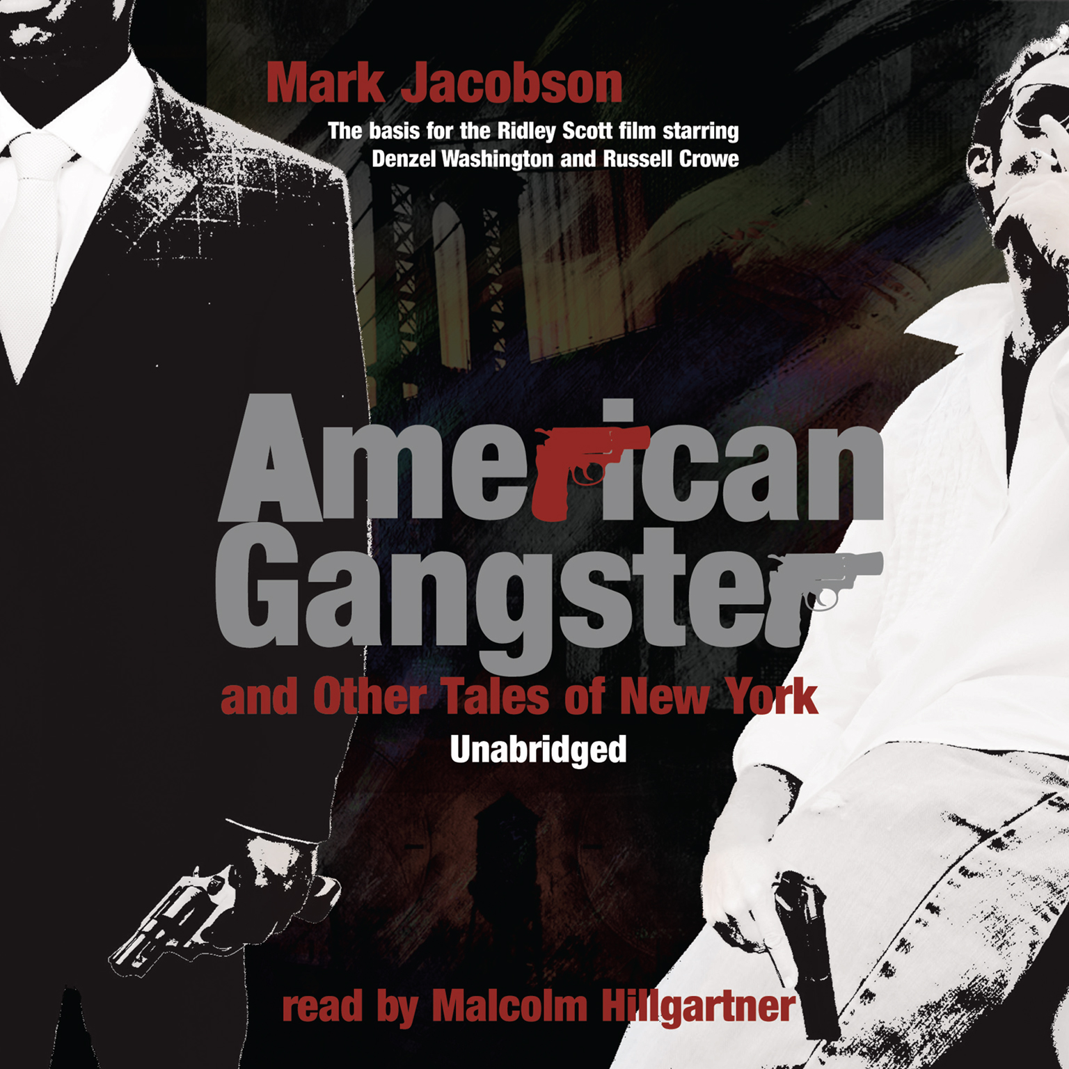 Printable American Gangster and Other Tales of New York Audiobook Cover Art