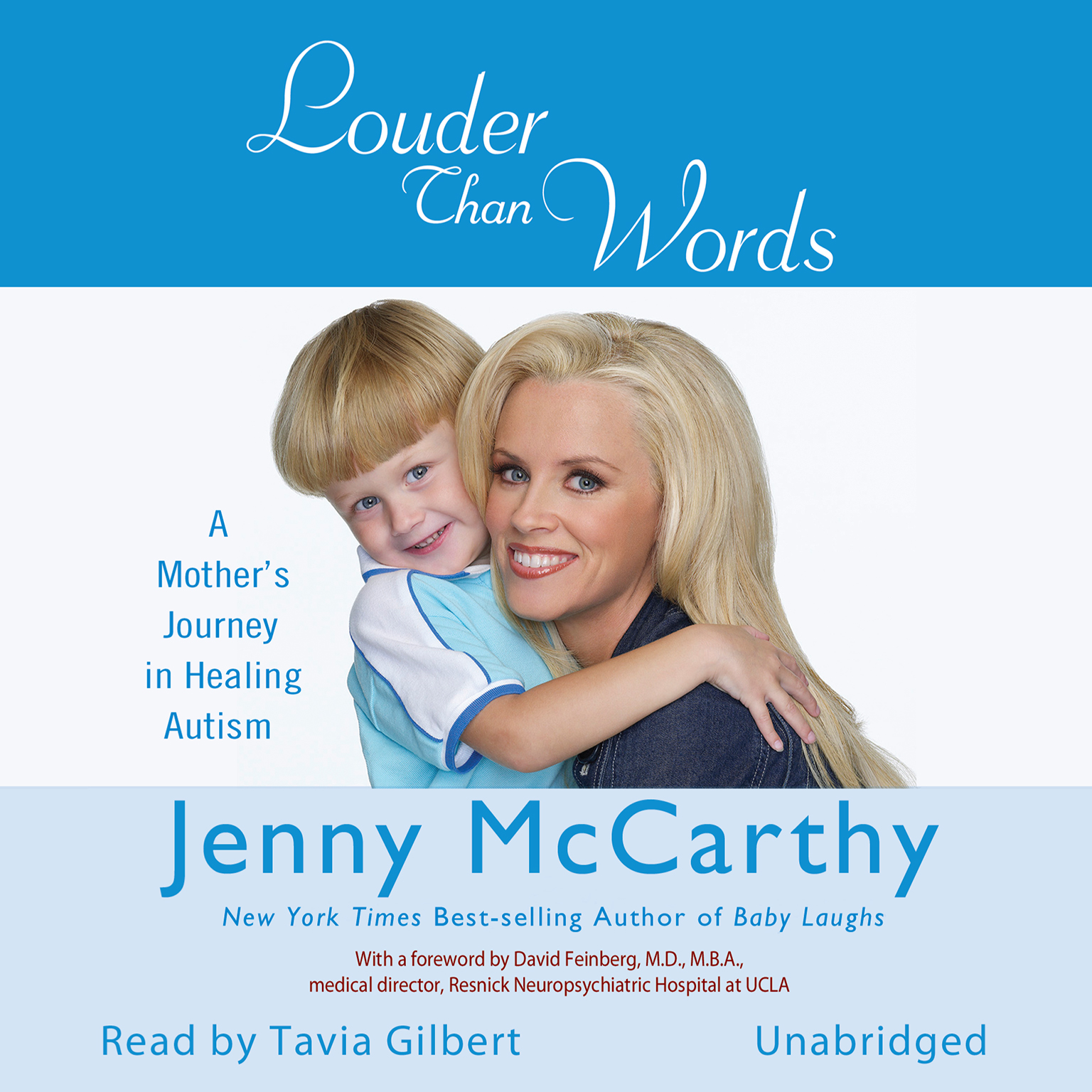 Printable Louder Than Words: A Mother's Journey in Healing Autism Audiobook Cover Art