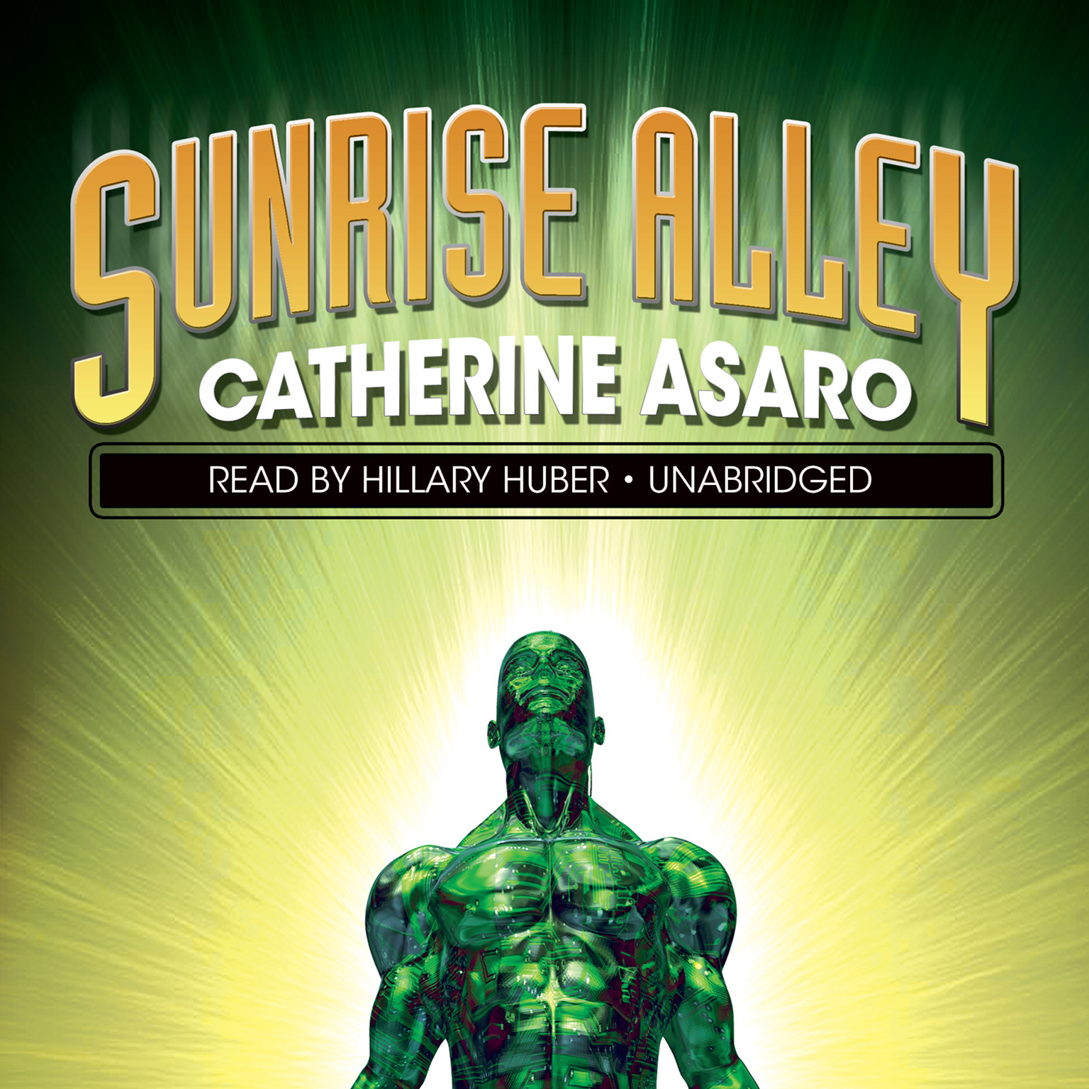 Printable Sunrise Alley Audiobook Cover Art