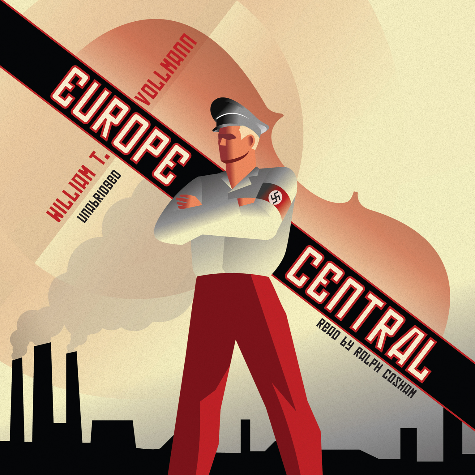 Printable Europe Central Audiobook Cover Art