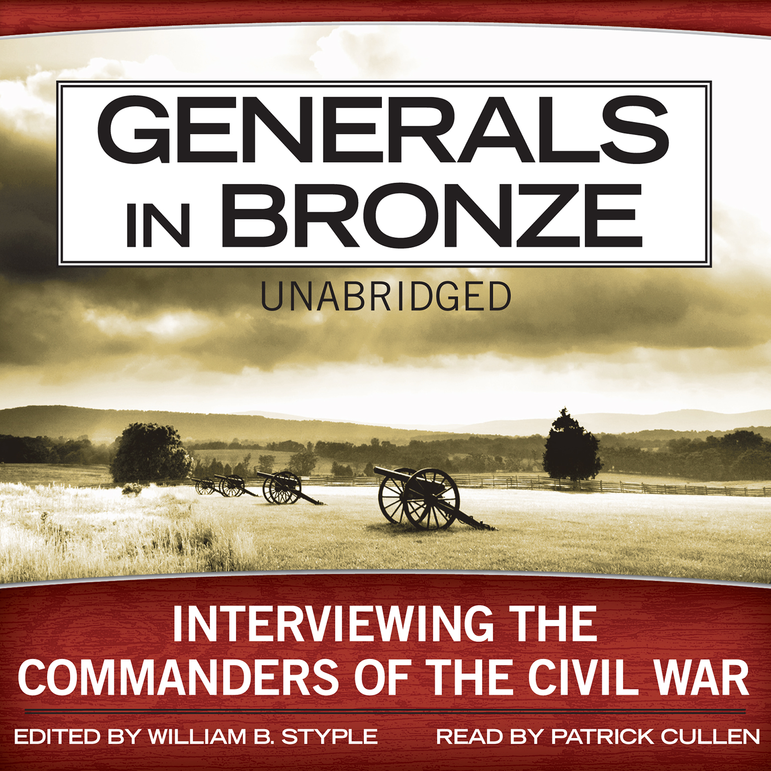 Printable Generals in Bronze: Interviewing the Commanders of the Civil War Audiobook Cover Art