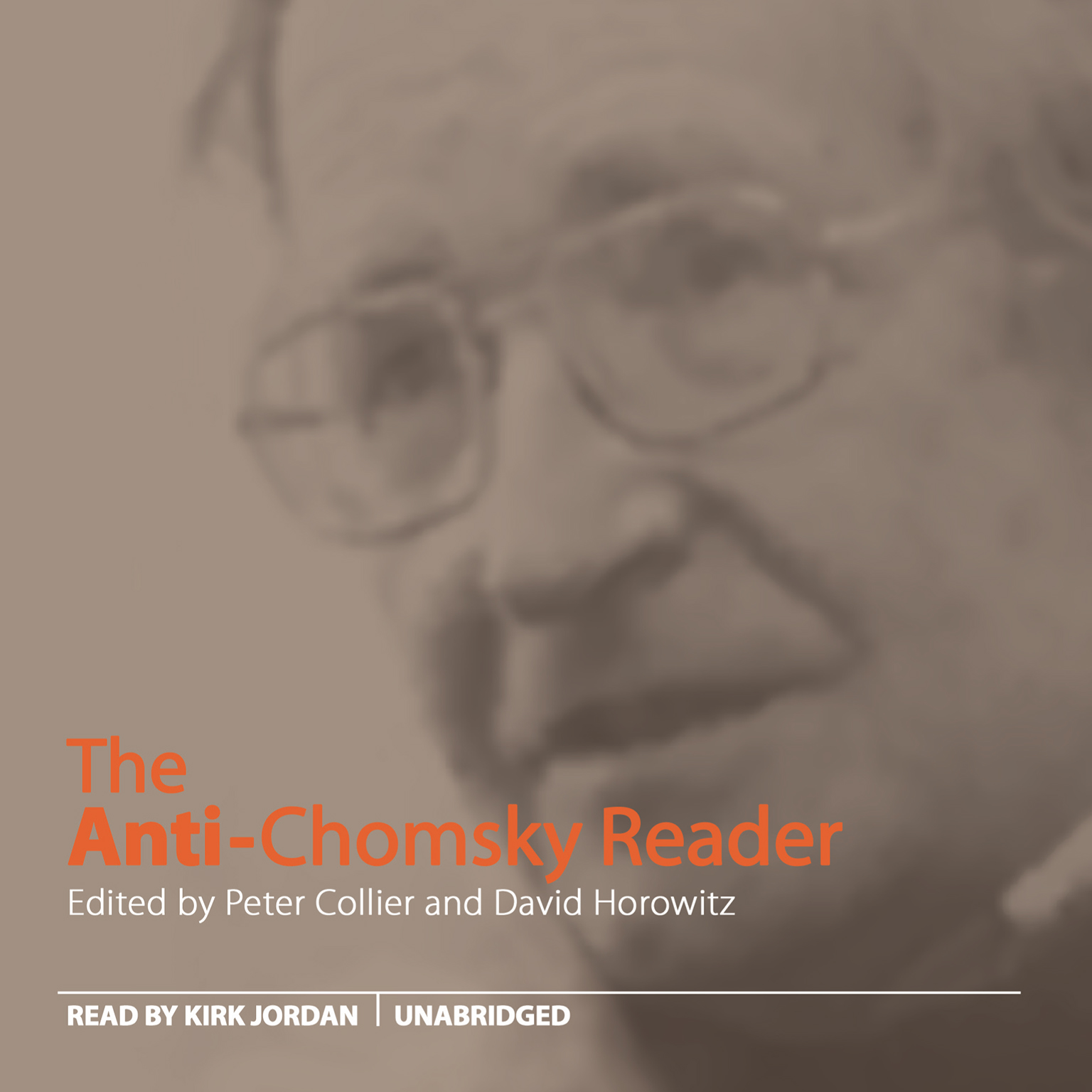 Printable The Anti-Chomsky Reader Audiobook Cover Art