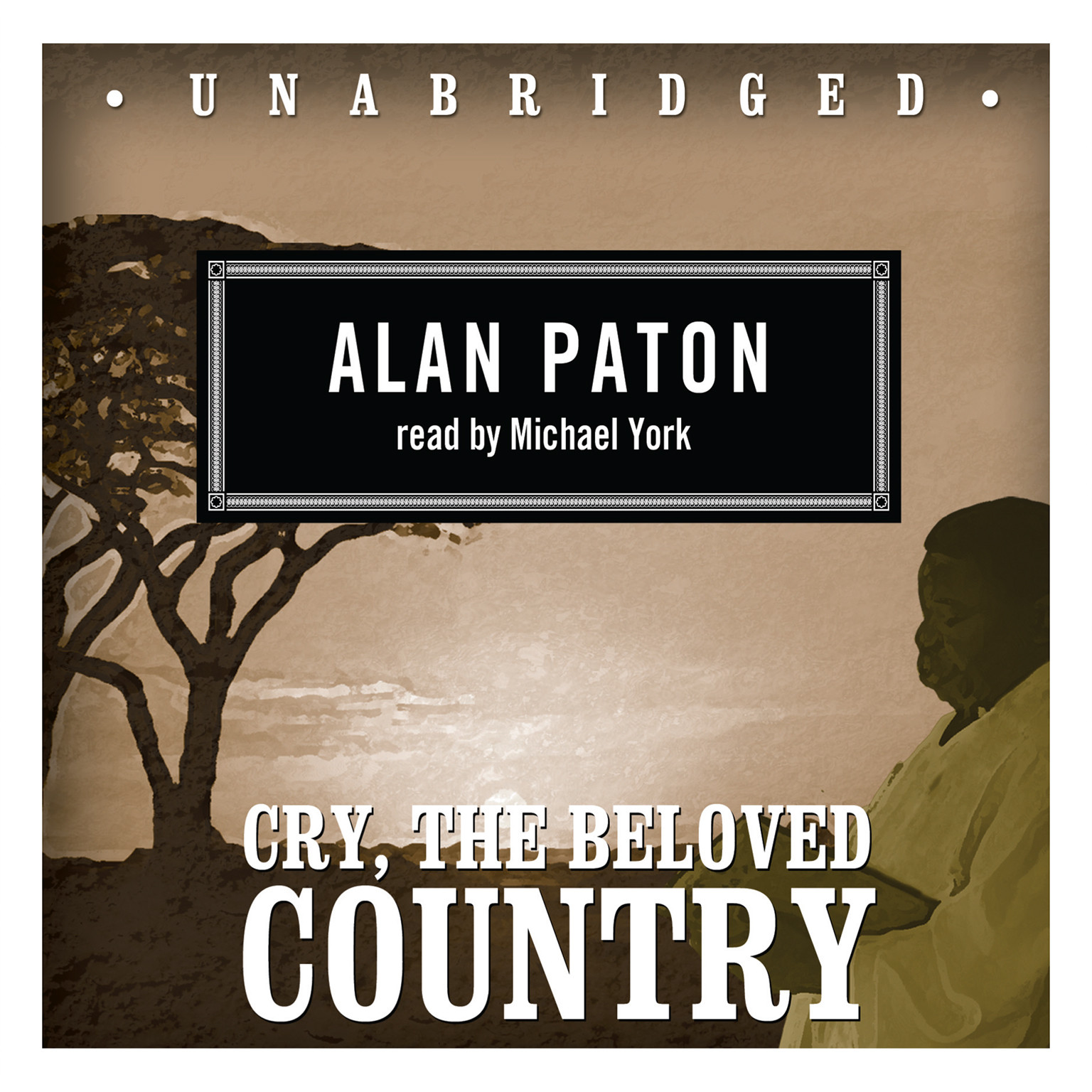 Printable Cry, the Beloved Country Audiobook Cover Art