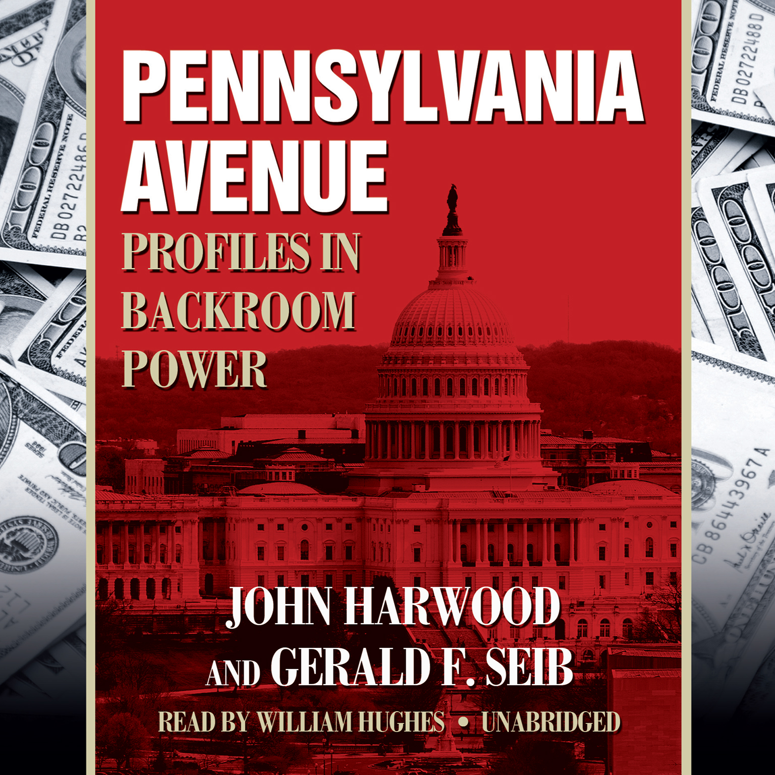 Printable Pennsylvania Avenue: Profiles in Backroom Power Audiobook Cover Art
