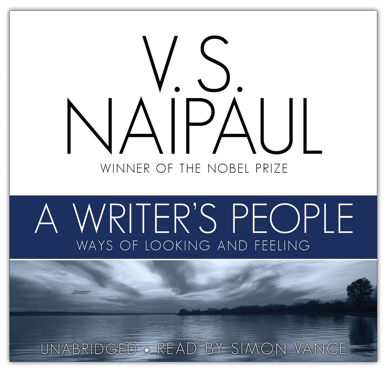 Printable A Writer's People: Ways of Looking and Feeling Audiobook Cover Art