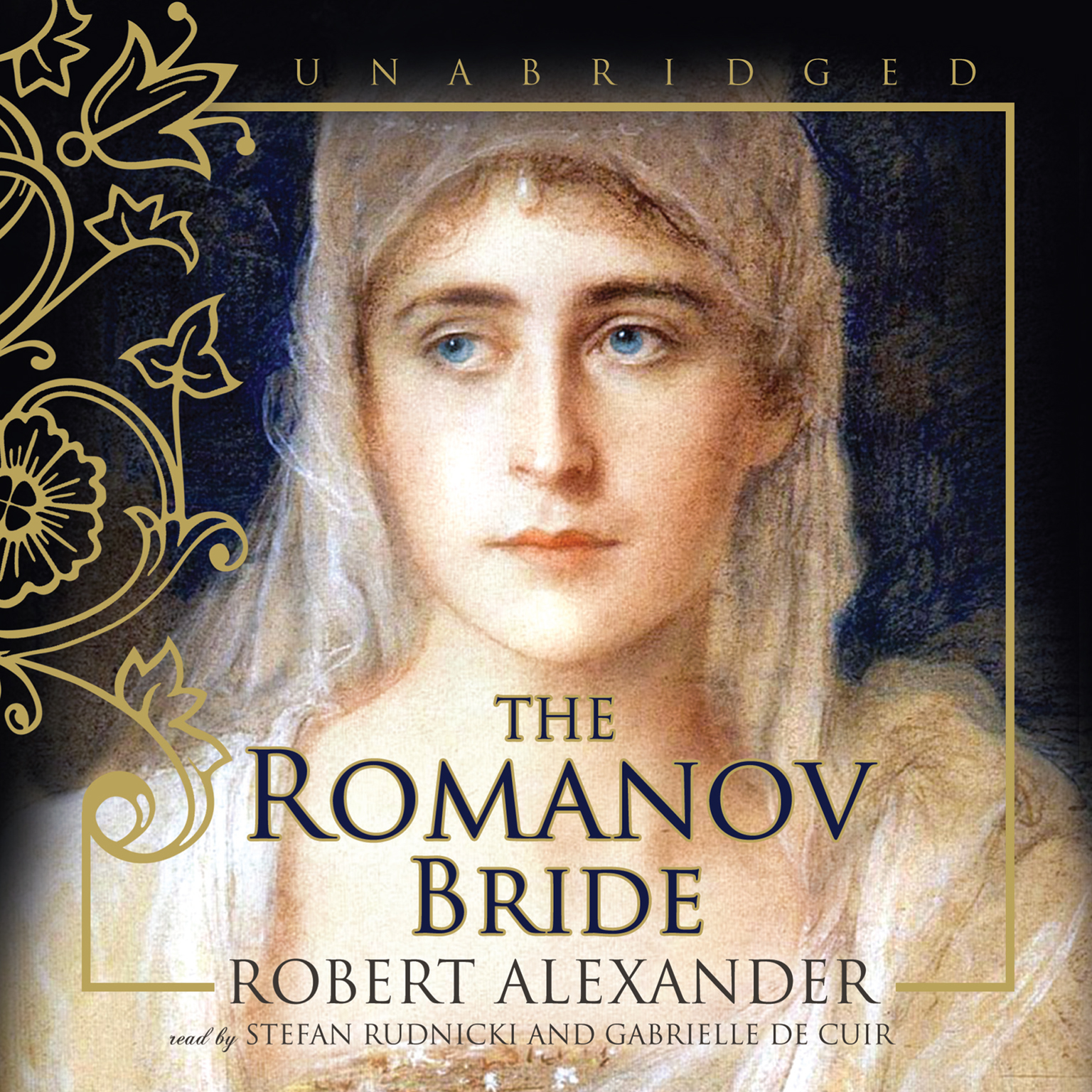 Printable The Romanov Bride Audiobook Cover Art