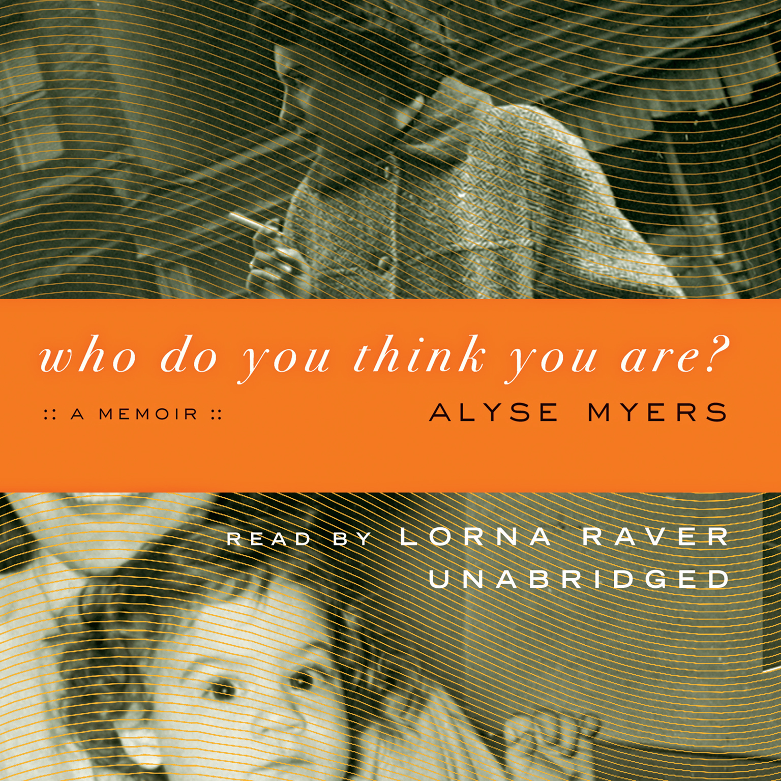 Printable Who Do You Think You Are?: A Memoir Audiobook Cover Art