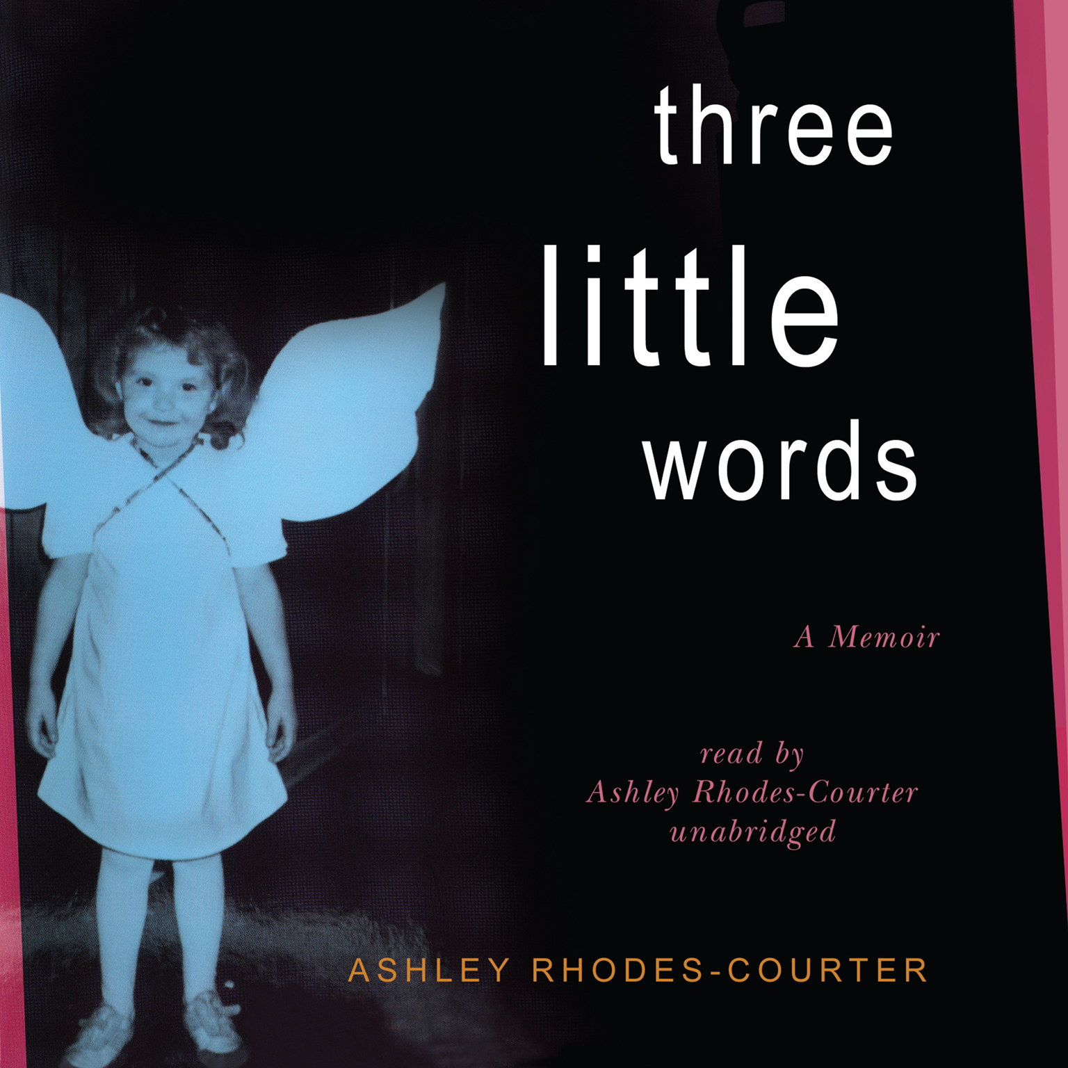 Printable Three Little Words: A Memoir Audiobook Cover Art