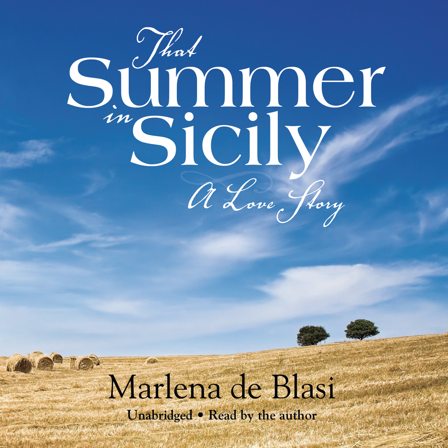 Printable That Summer in Sicily: A Love Story Audiobook Cover Art