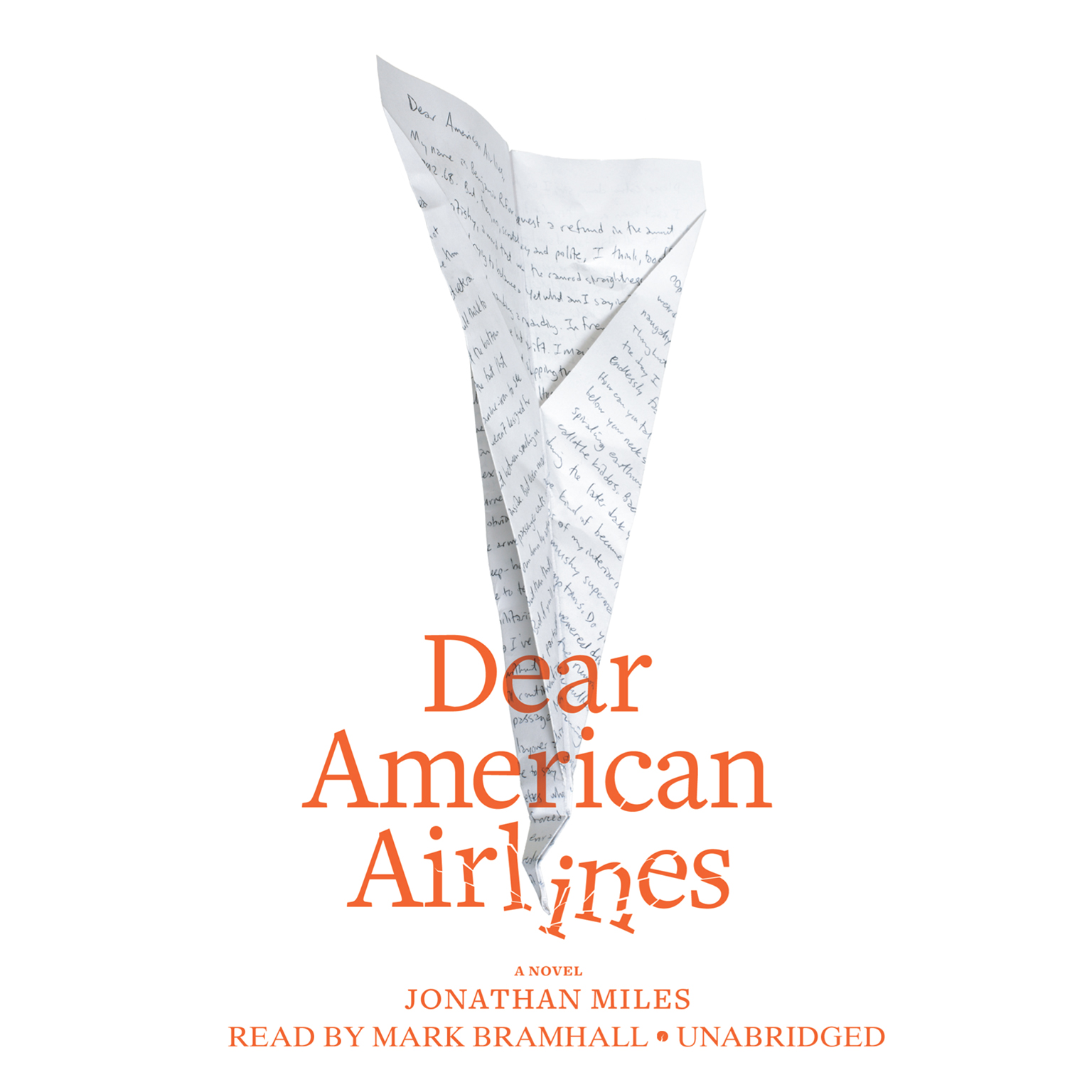 Printable Dear American Airlines Audiobook Cover Art