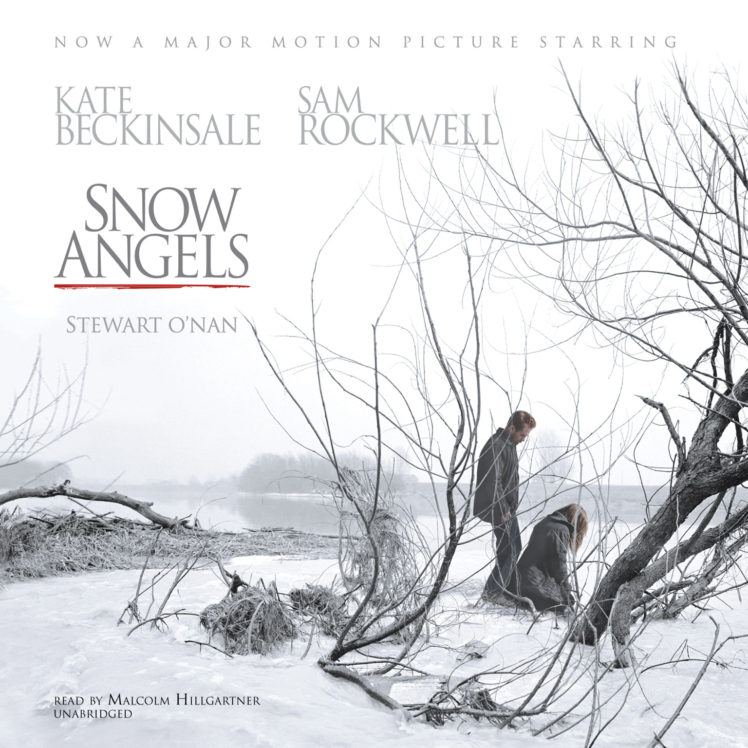 Printable Snow Angels Audiobook Cover Art