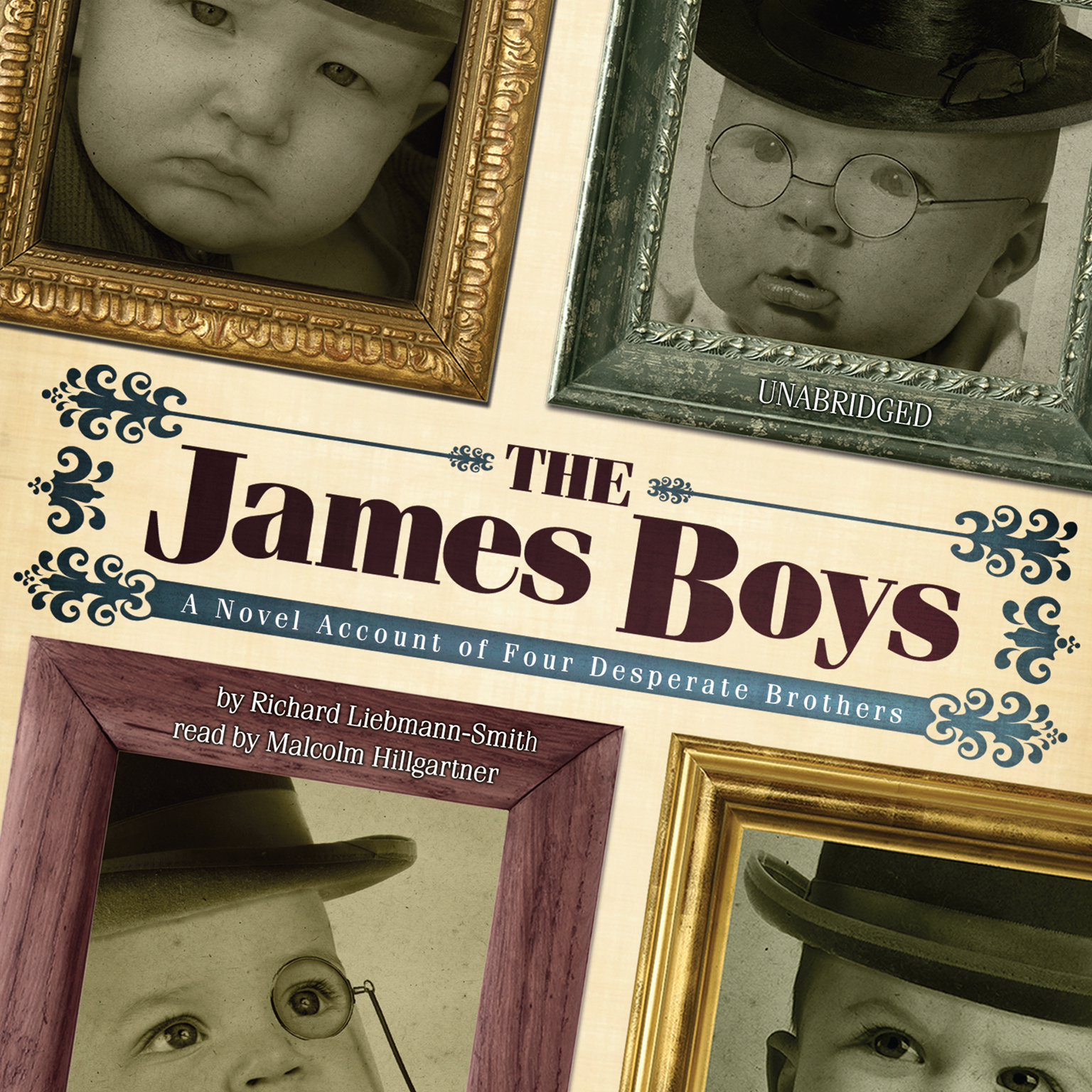 Printable The James Boys: A Novel Account of Four Desperate Brothers Audiobook Cover Art