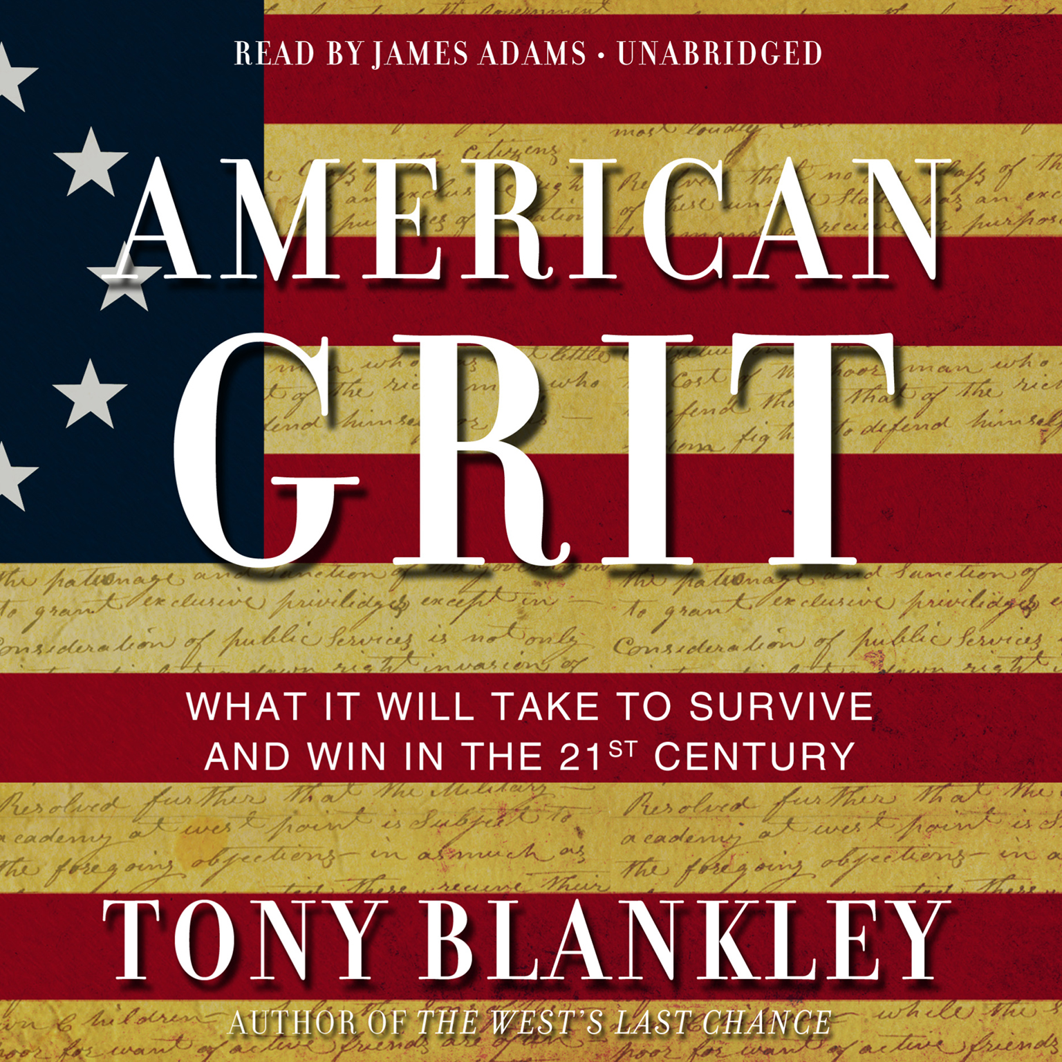 Printable American Grit: What It Will Take to Survive and Win in the 21st Century Audiobook Cover Art