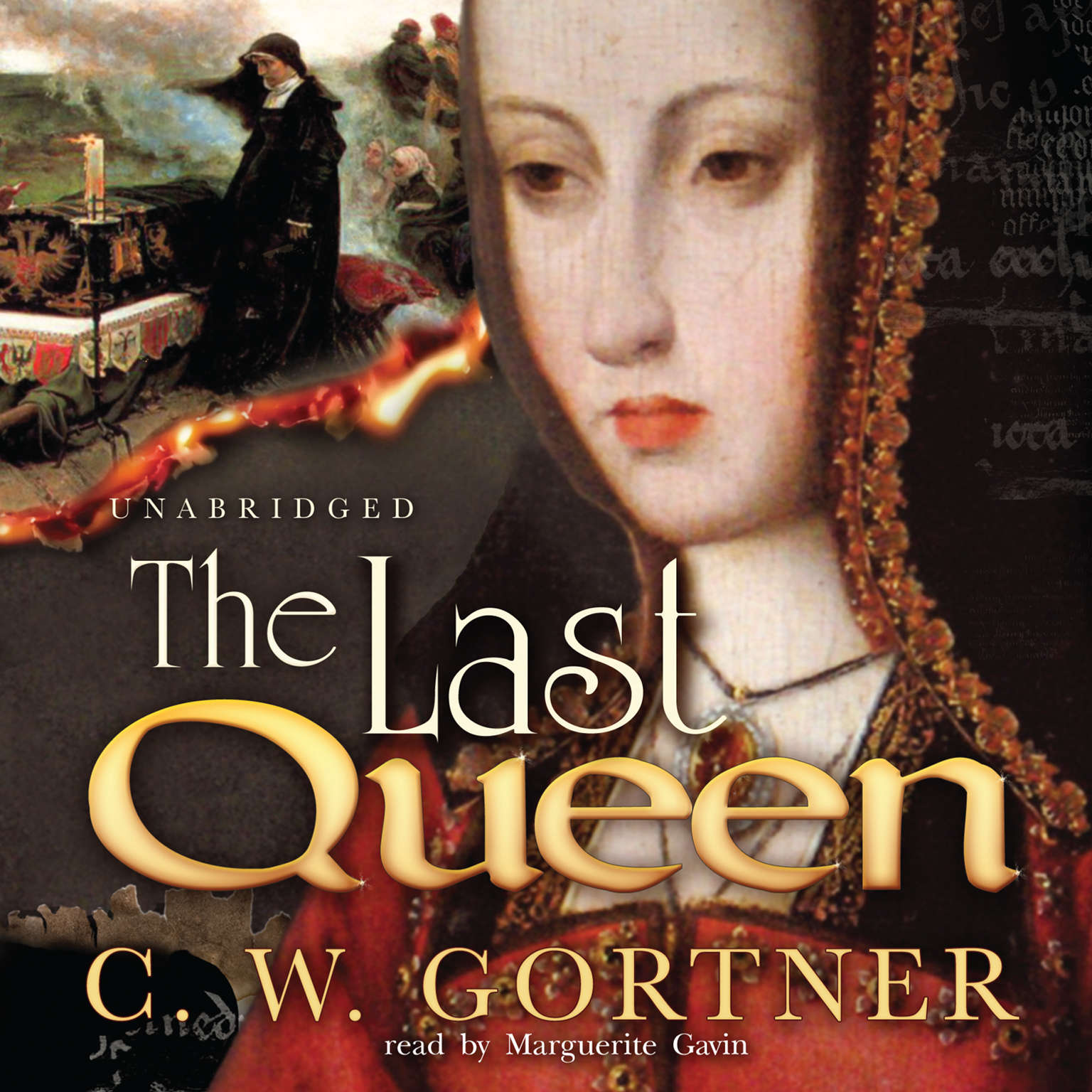 Printable The Last Queen: A Novel Audiobook Cover Art