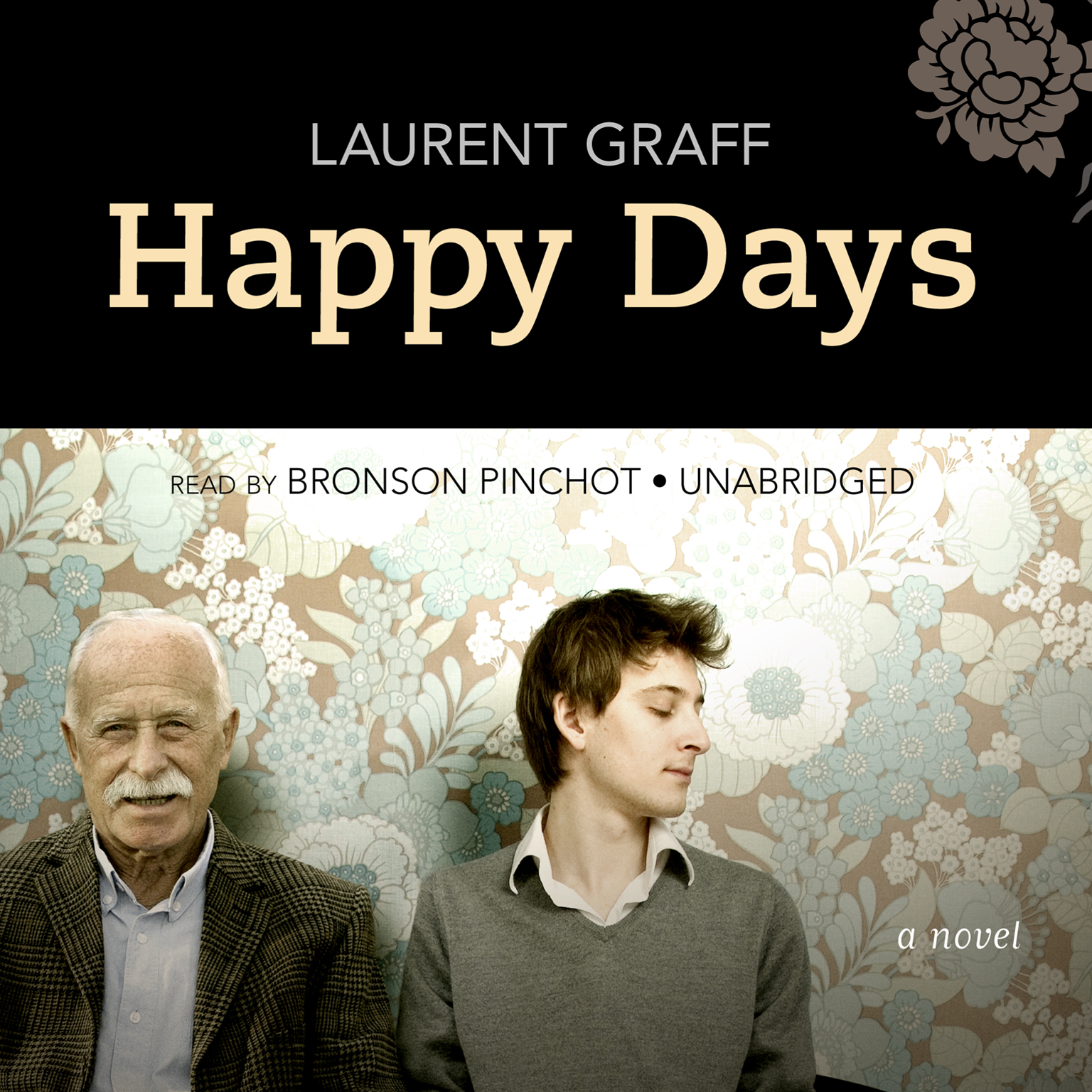 Printable Happy Days: A Novel Audiobook Cover Art